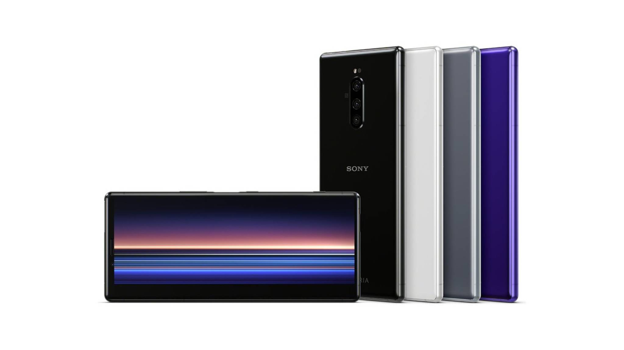 Das Sony Xperia 1 bietet ein 4K-Display im 21:9-Format.