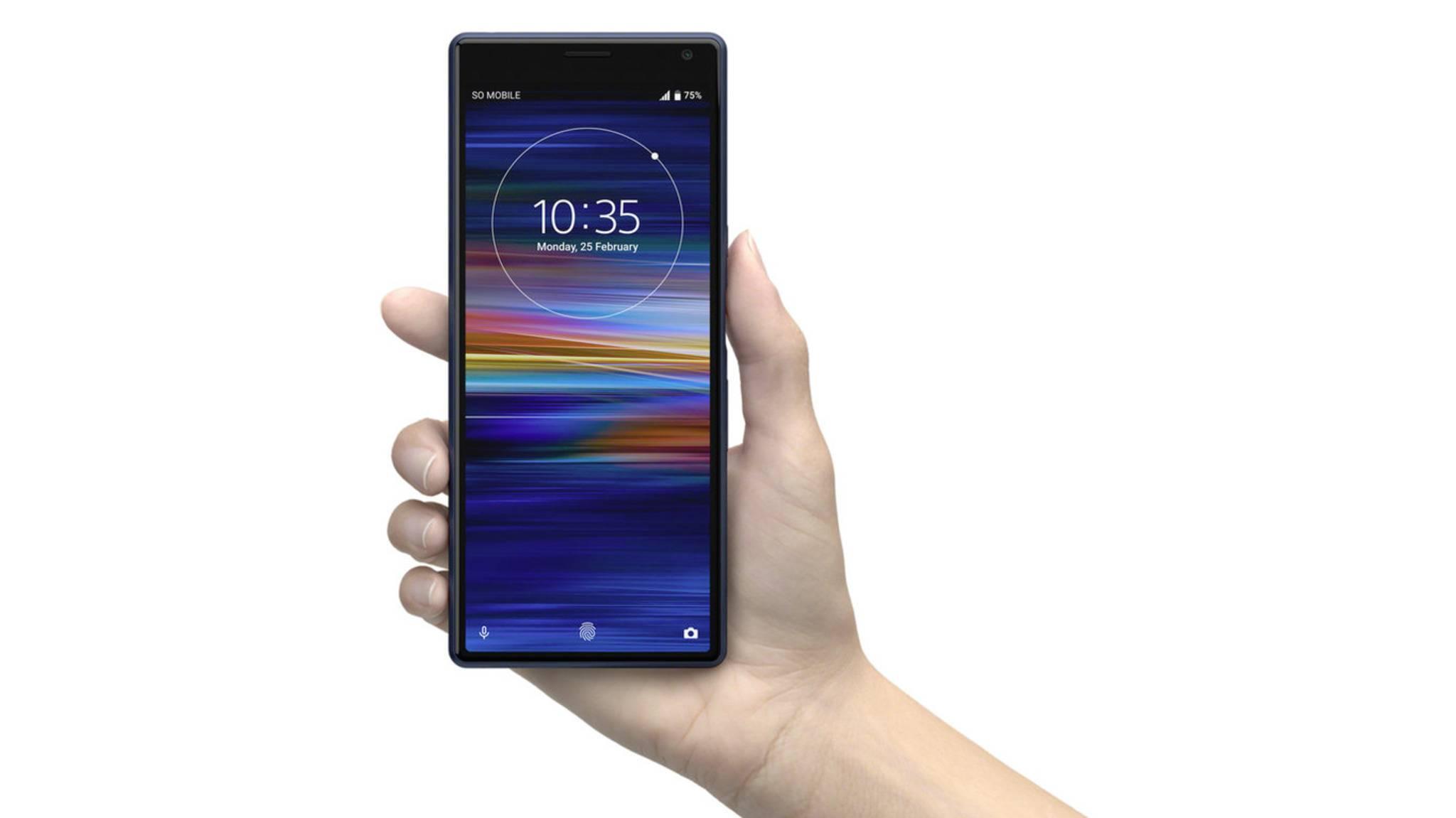Sony-Smartphones wie das Xperia 10 wird es weiterhin geben.