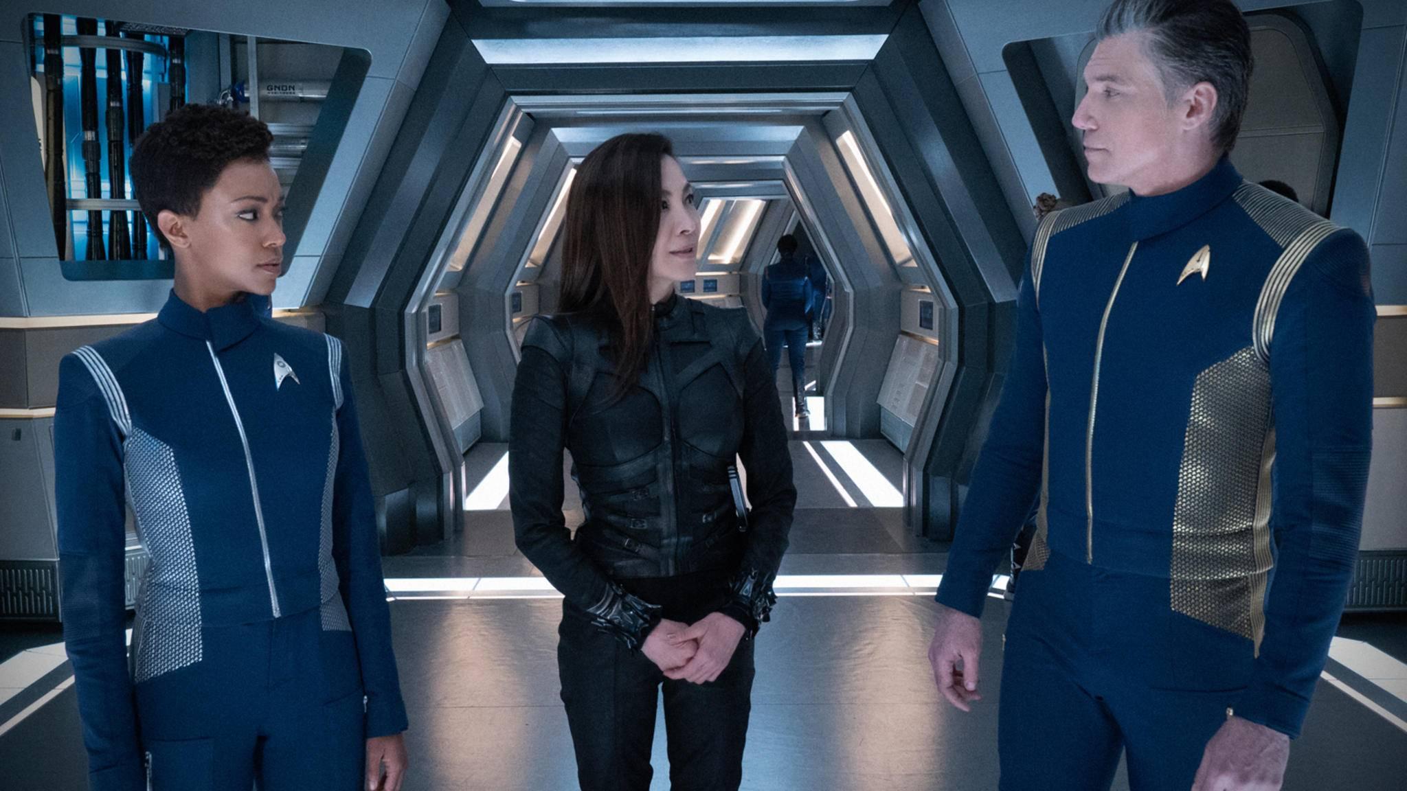 """Einer dieser """"Star Trek: Discovery""""-Darsteller darf bald ins Alpha-Centauri-Sonnensystem reisen."""