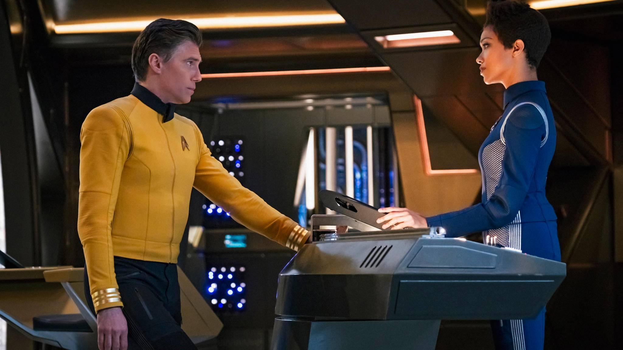 """Neuer (Co-)Captain auf der Brücke: """"Star Trek: Discovery"""" steuert mit neuem Showrunner auf Staffel 3 zu."""