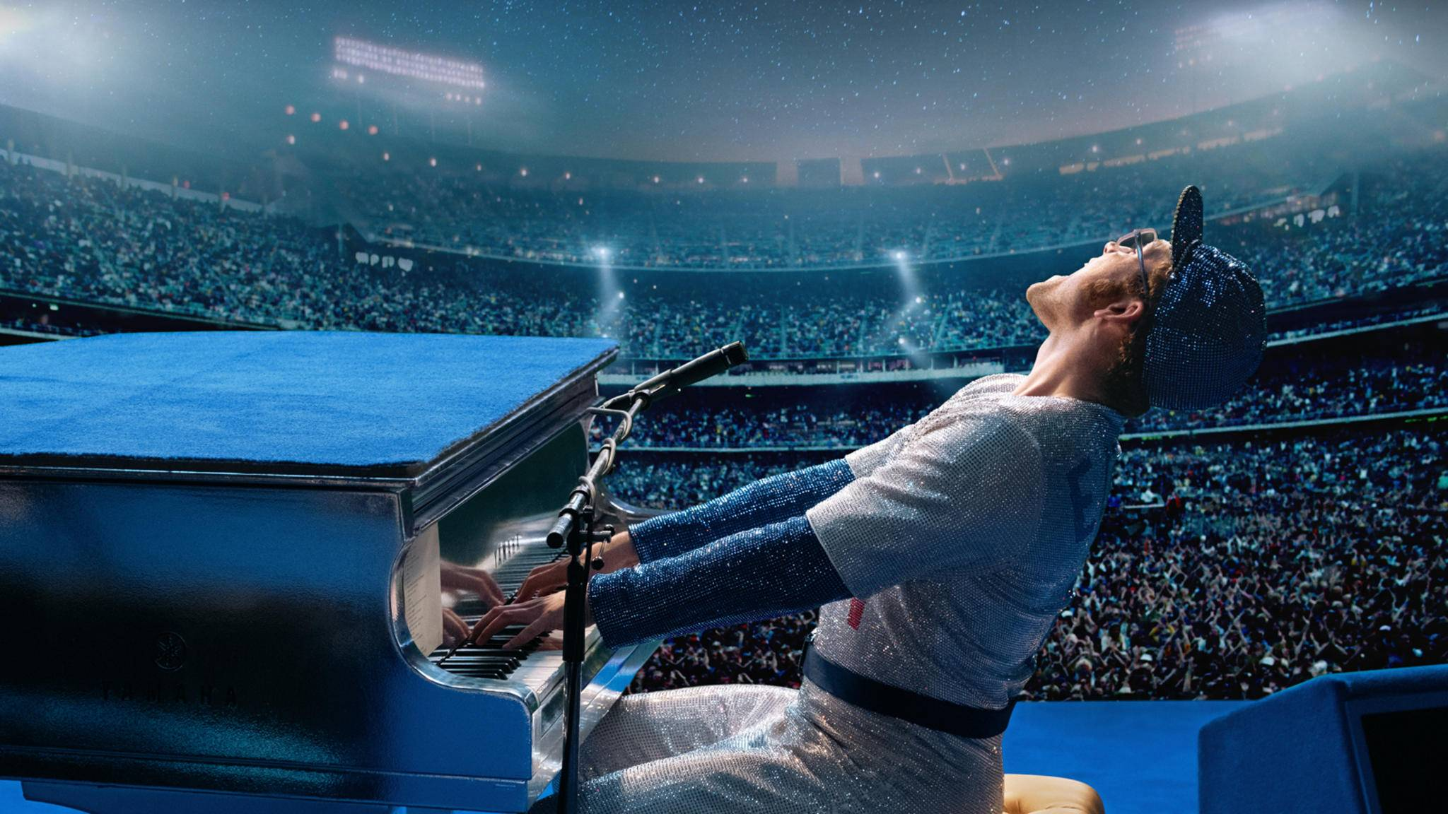 "Taron Egerton haut in ""Rocketman"" als Elton John in die Tasten."