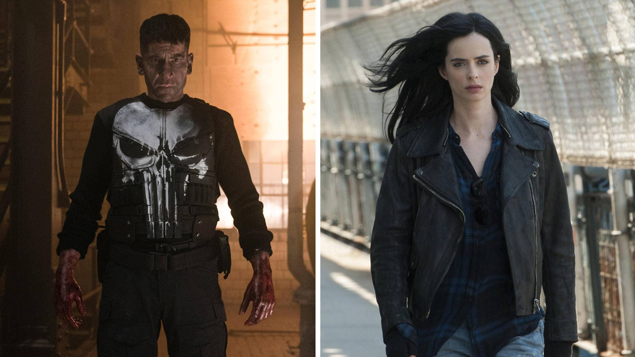 """Auch """"The Punisher"""" und """"Jessica Jones"""" ergeht es nicht anders als ihren Marvel-Kollegen."""