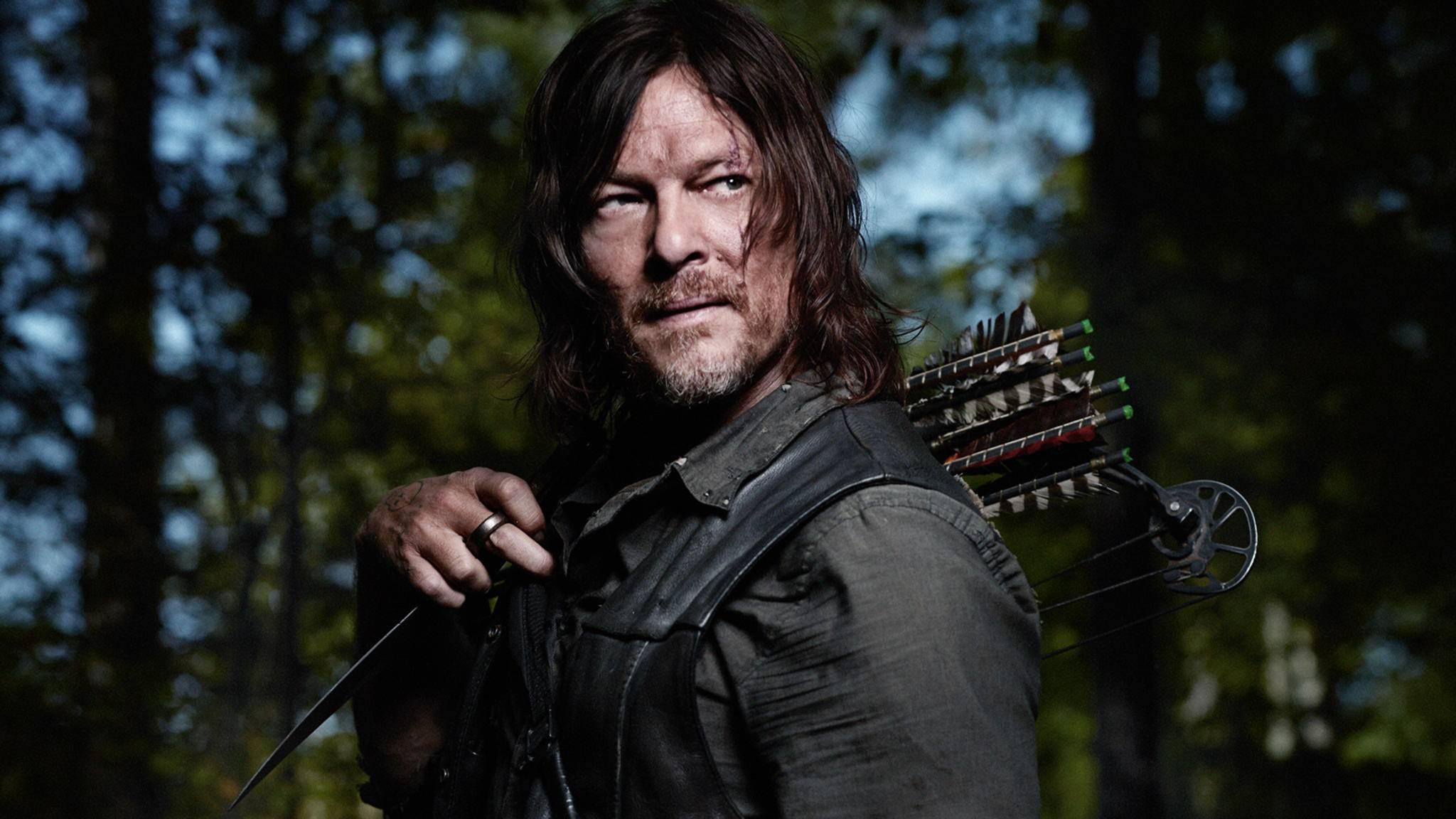 """Daryl wird sich wohl bis zum bitteren Ende durch die Zombie-Apokalypse von """"The Walking Dead"""" schlagen."""