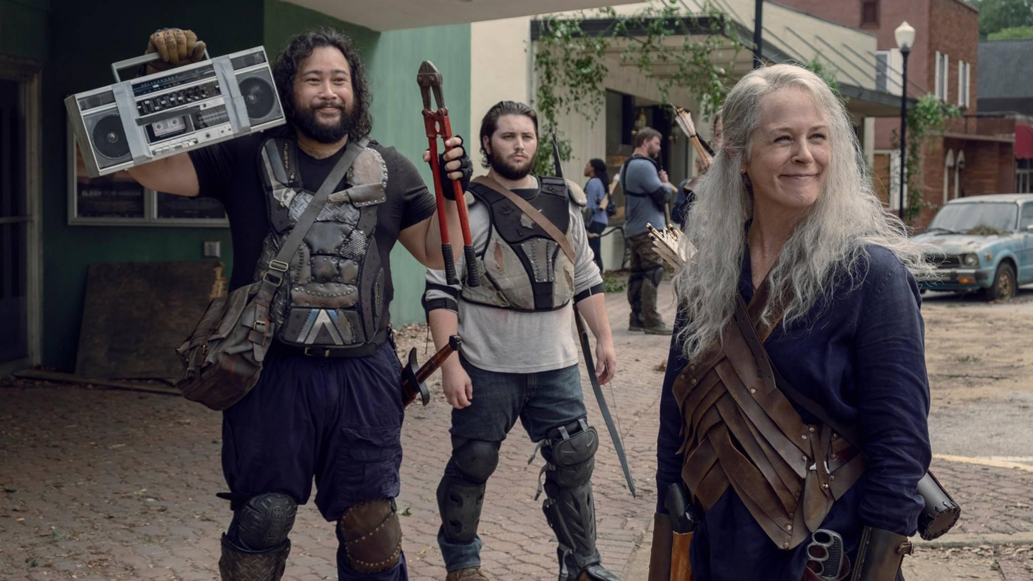 """Da haben nicht nur Carol und Jerry Grund zur Freude: AMC entwickelt ein weiteres """"The Walking Dead""""-Spin-off."""