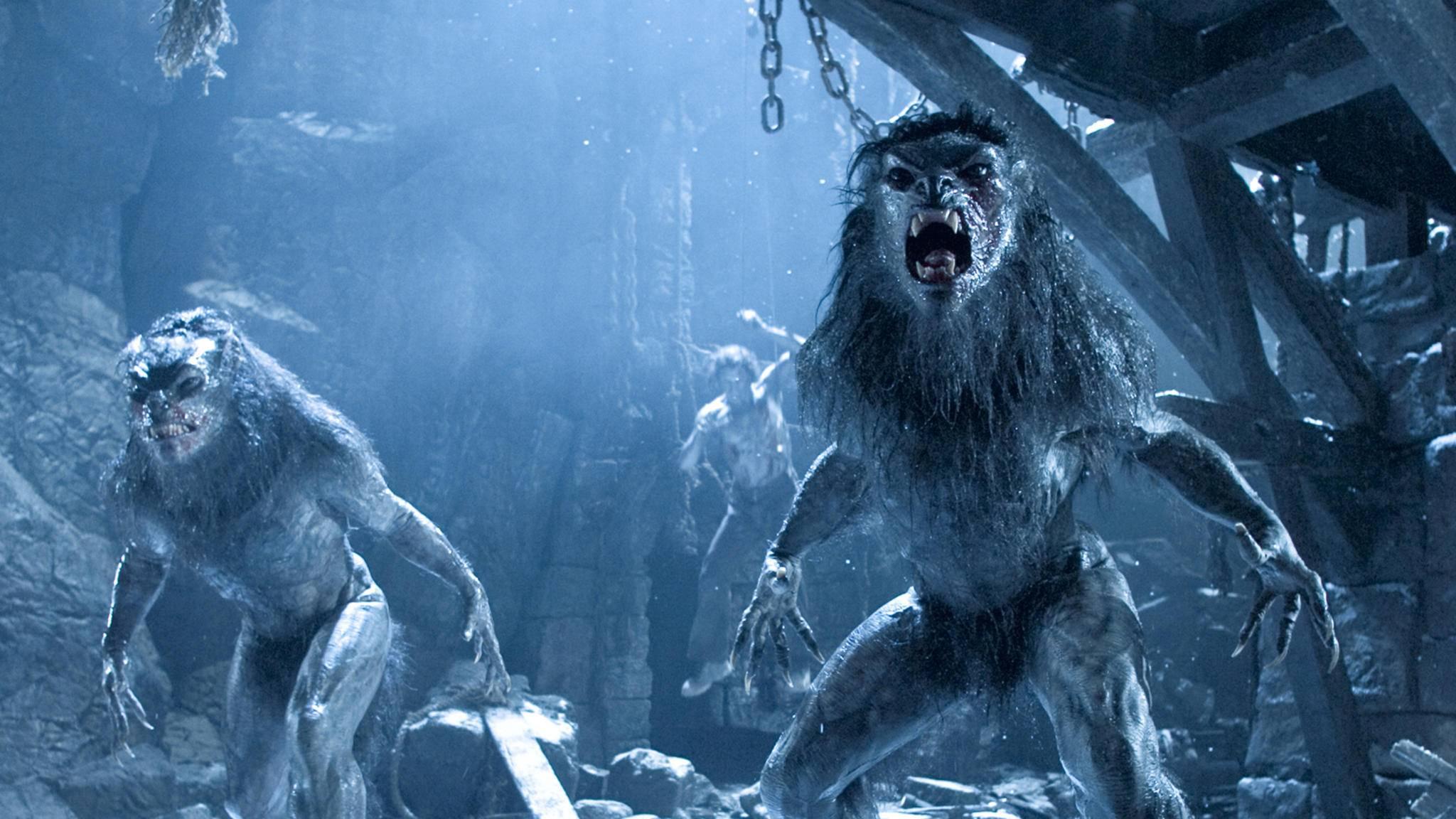 """Die Lykaner in """"Underworld: Evolution"""" sehen schon ziemlich fies aus ..."""