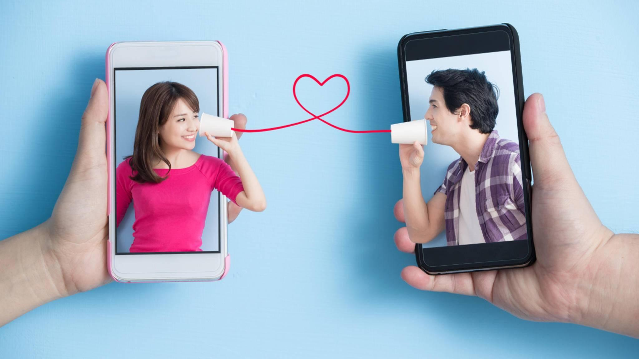 In den USA kamen eine ganze Menge Textnachrichten vom Valentinstag erst Anfang November an.