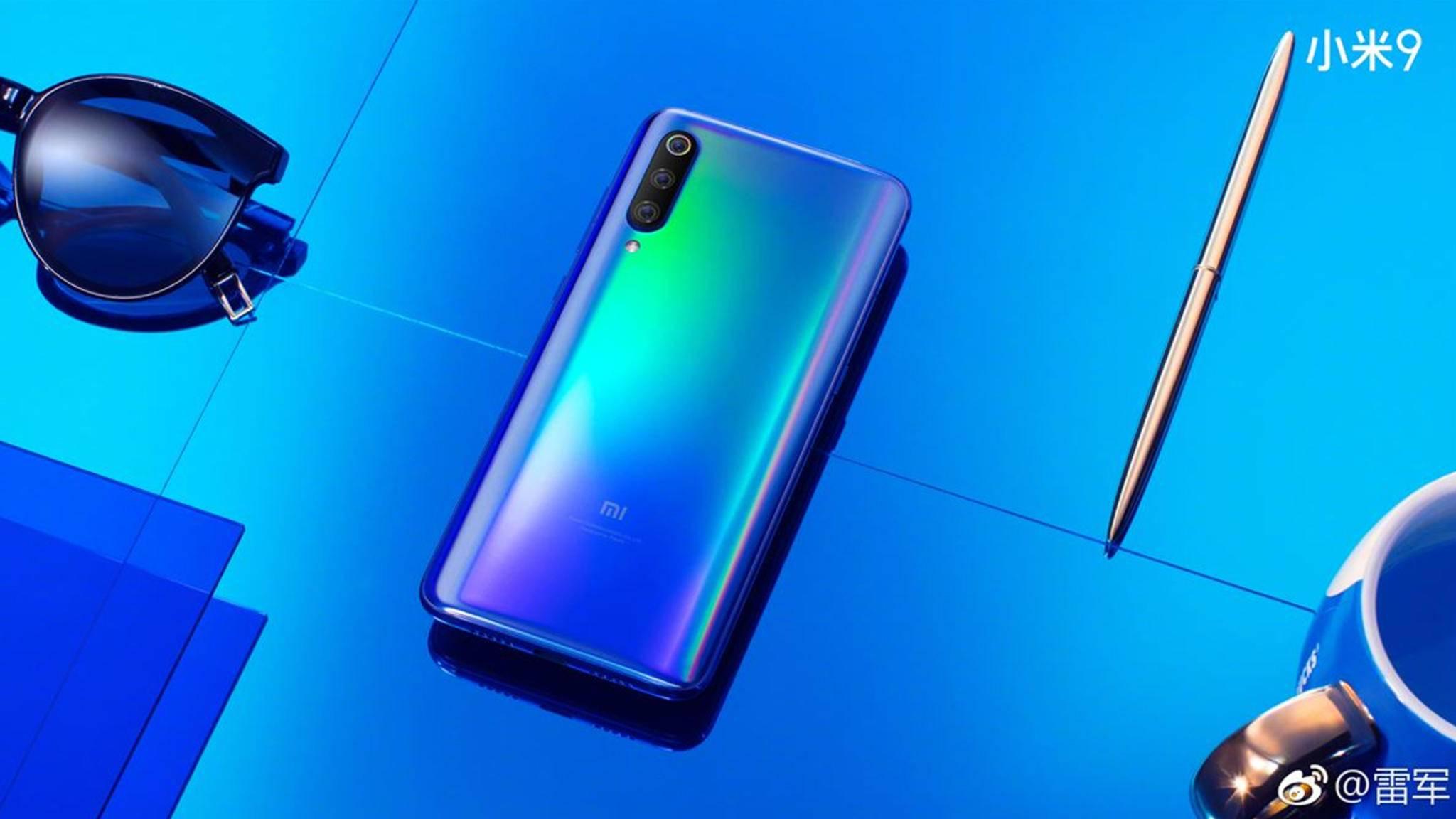 Xiaomi Mi 9: So stark wird das neue China-Smartphone