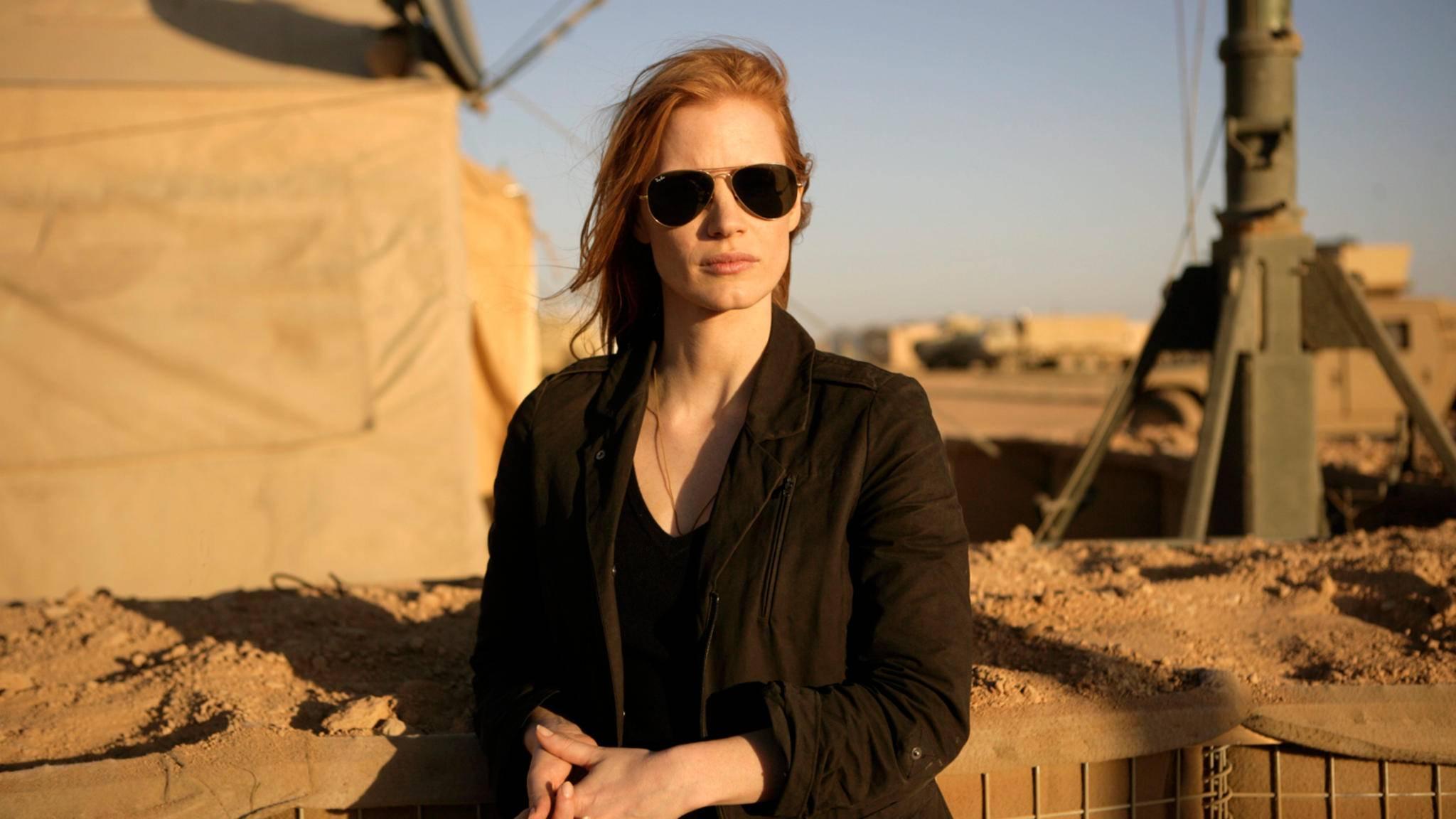 """2012 kam mit """"Zero Dark Thirty"""" ein packender Politthriller mit Jassica Chastain in der Hauptrolle in die Kinos."""
