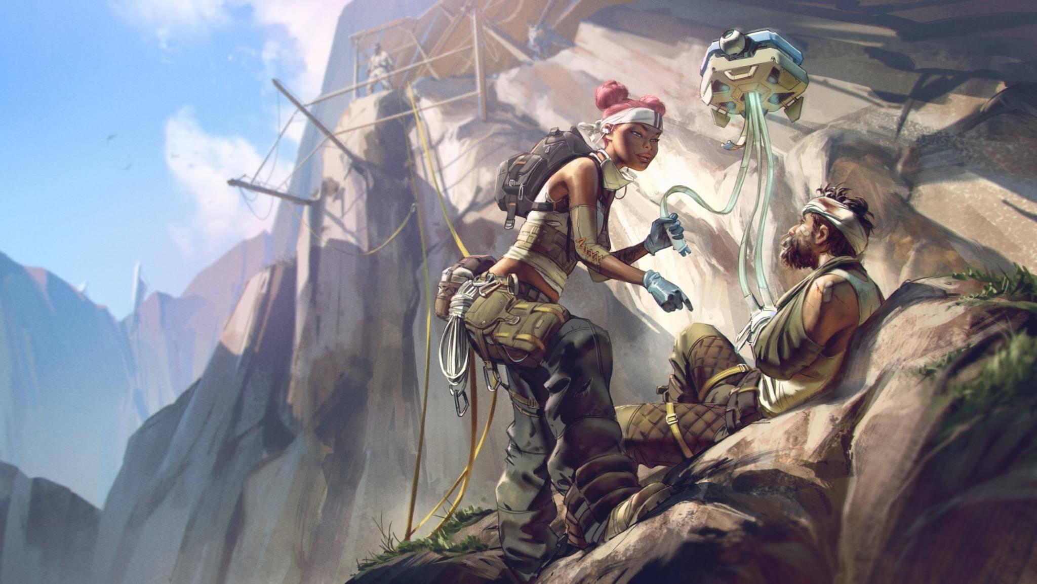 """Für """"Apex Legends"""" läuft es in Sachen Spielerzahlen ziemlich gut."""
