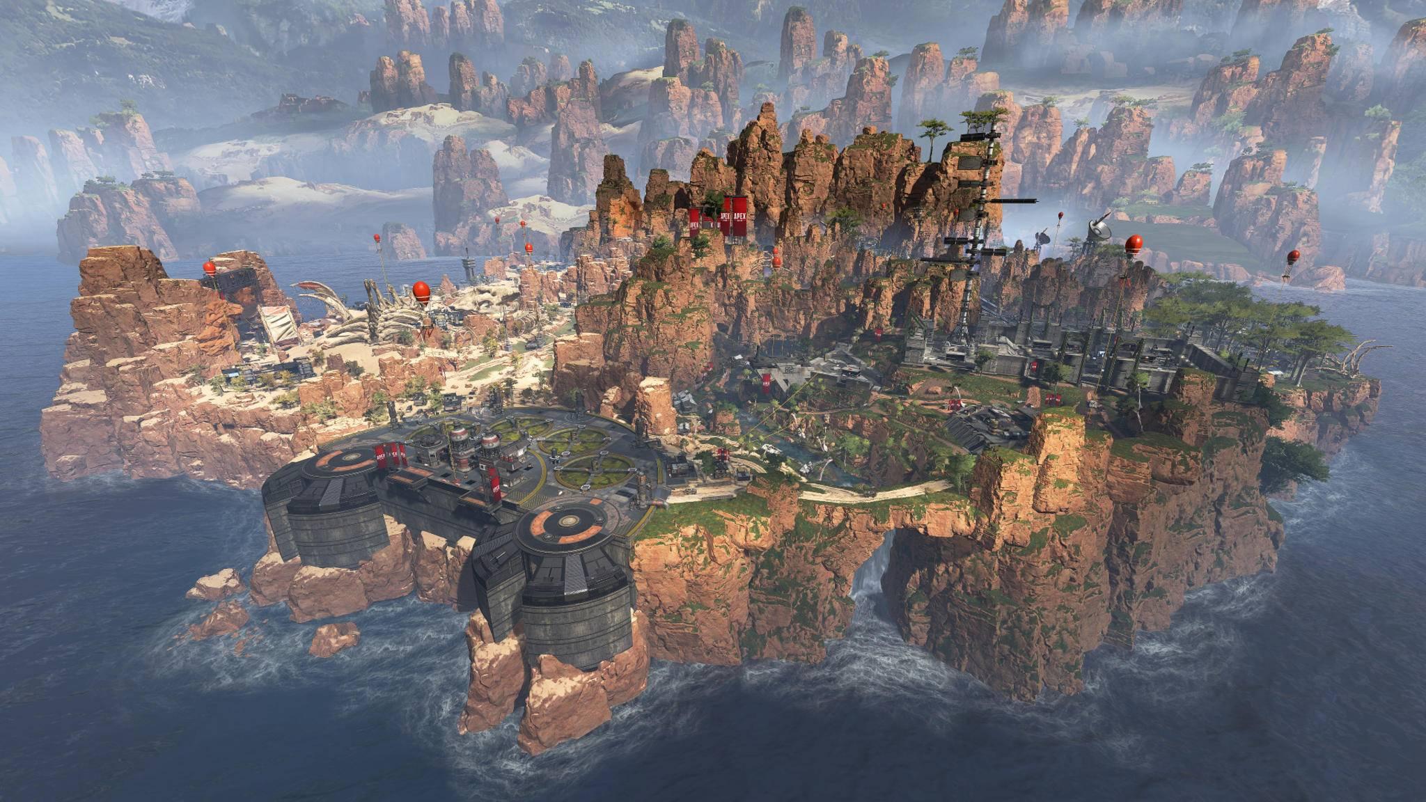 """Wo lohnt sich die Landung in """"Apex Legends"""" besonders? Wir sagen's Dir!"""