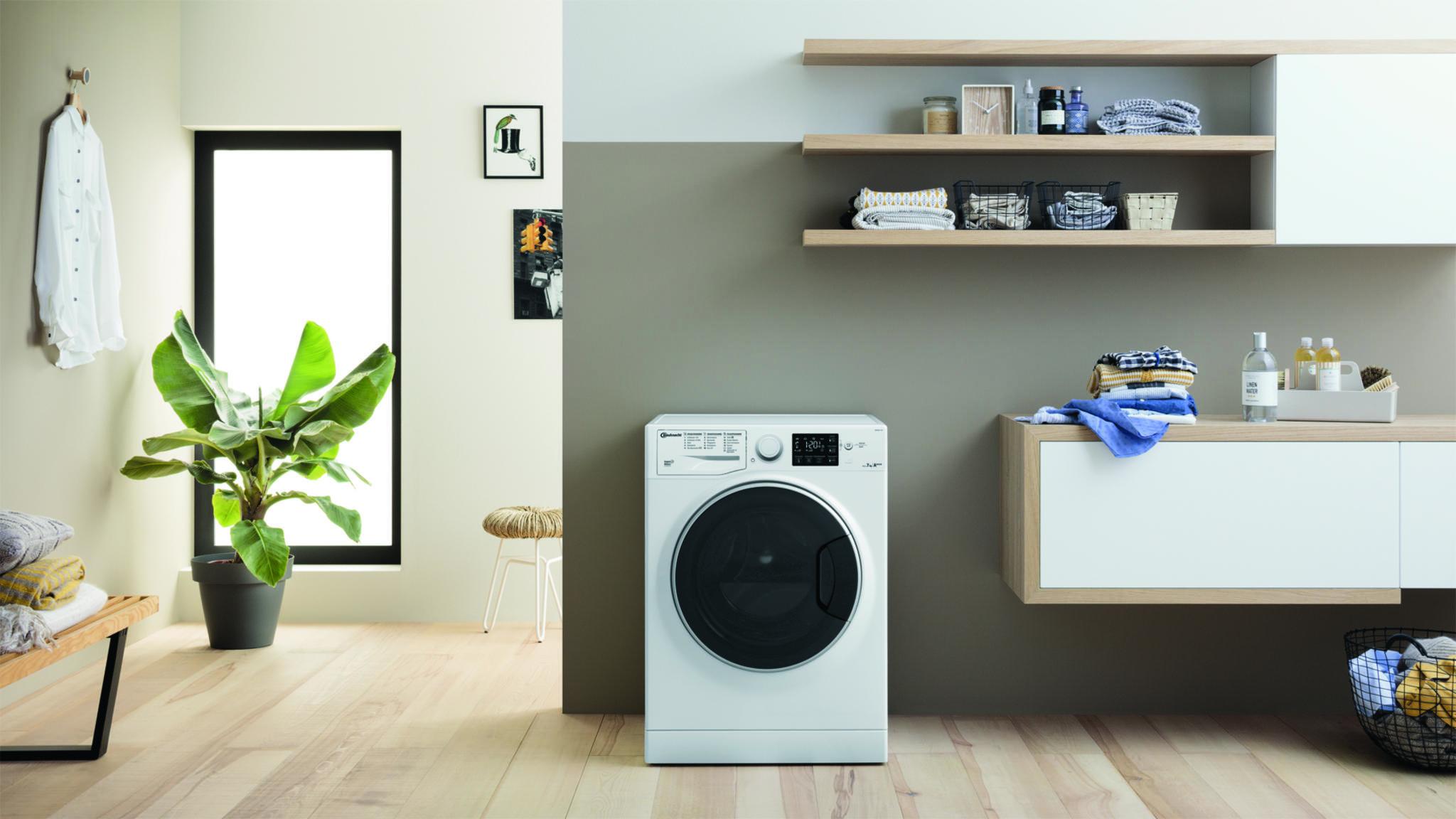 Flecken haben gegen Bauknechts Waschmaschine Active Care+ Steam keine Chance.