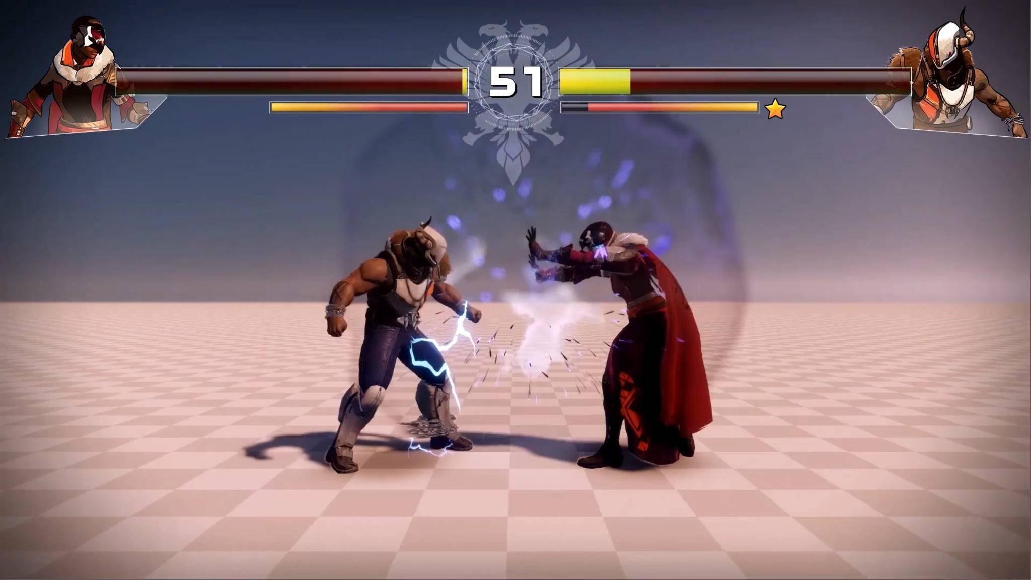 """Dieses Prügelspiel mit """"Destiny""""-Charakteren gibt es wirklich – aber nur bei Bungie."""