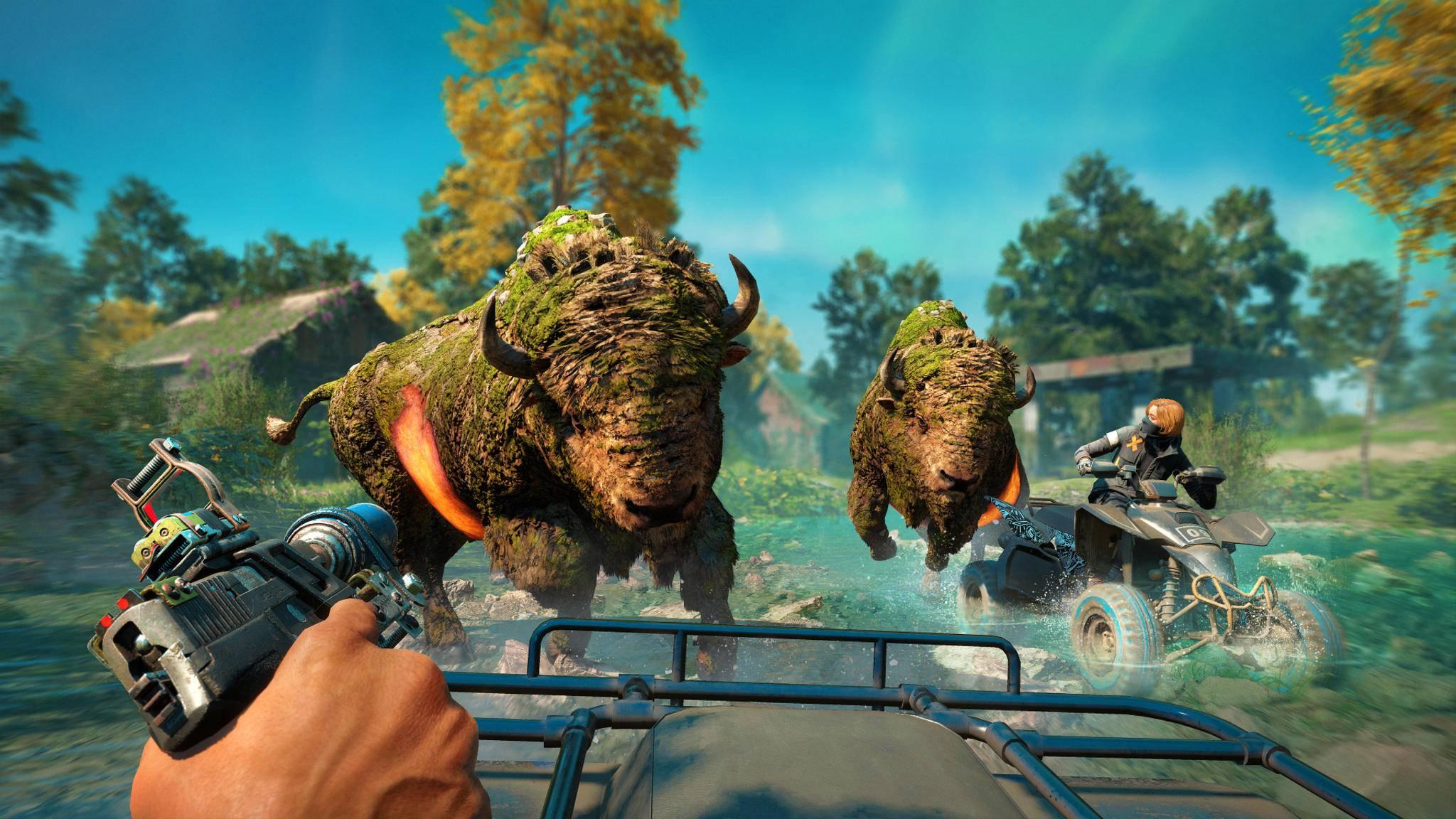 """Mutierte Tiere in """"Far Cry New Dawn"""" zu treffen, ist eher eine Seltenheit."""