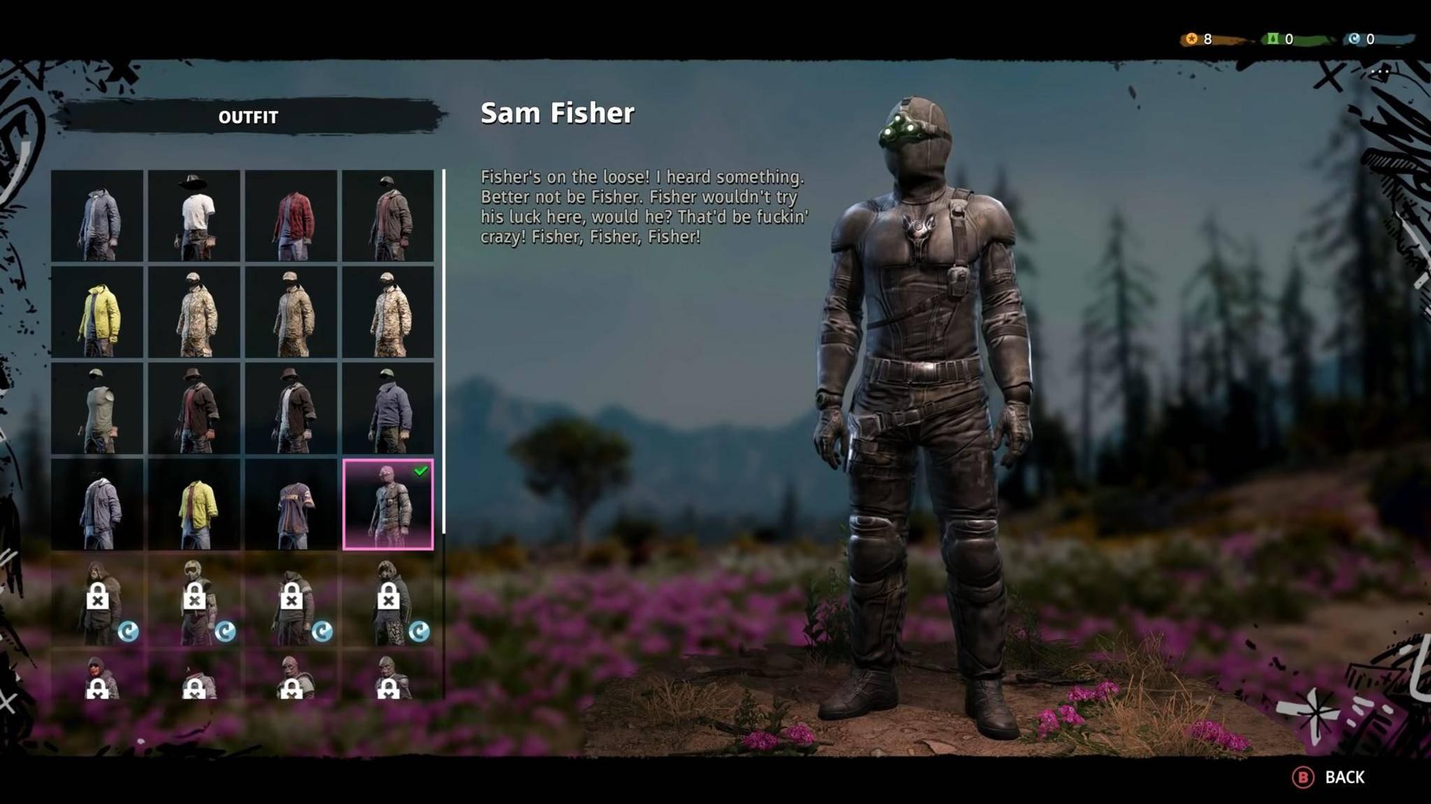 """In """"Far Cry New Dawn"""" ist der Anzug von Sam Fisher versteckt."""