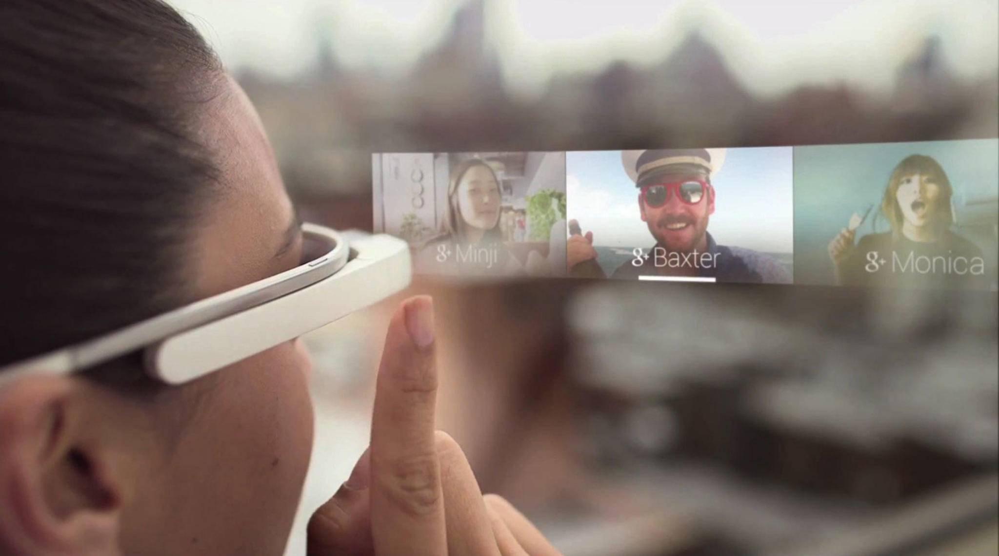 Smarte Datenbrillen liefern zusätzliche Informationen in der erweiterten Realität.