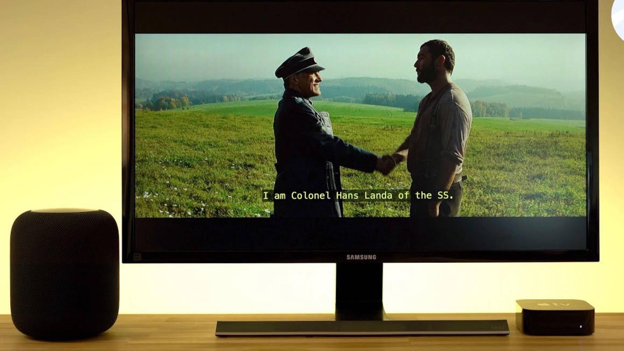 Gewinn soll Apple mit dem HomePod und dem Apple TV 4K angeblich nicht machen.
