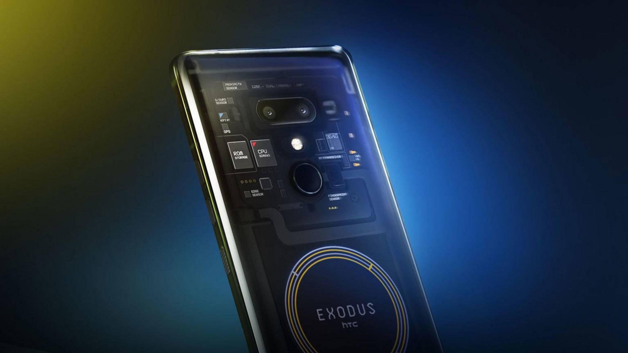 Ab März gibt es das HTC Exodus 1 für rund 700 US-Dollar zu kaufen.