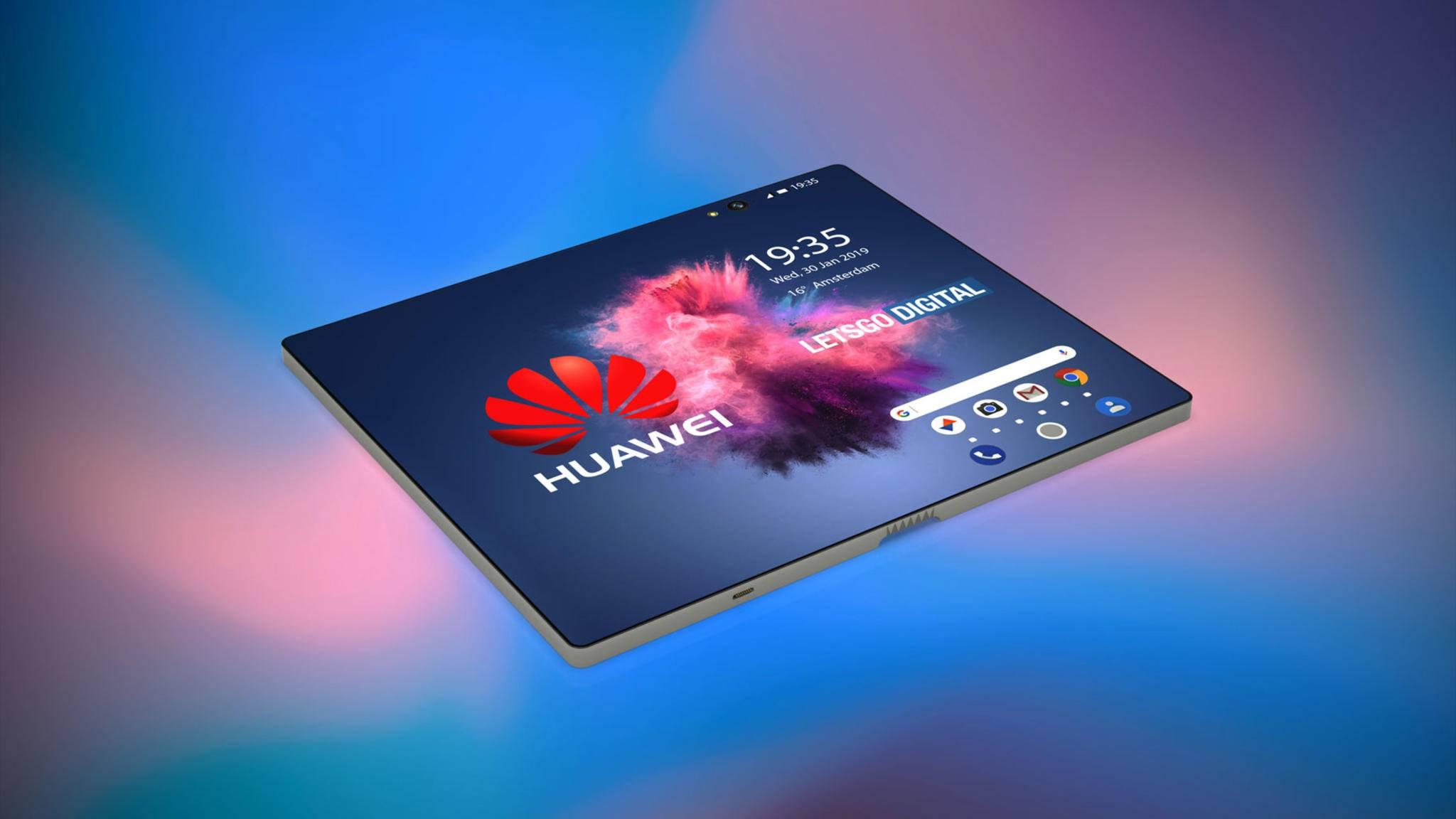 Schon im Februar soll das faltbare Smartphone offiziell vorgestellt werden.