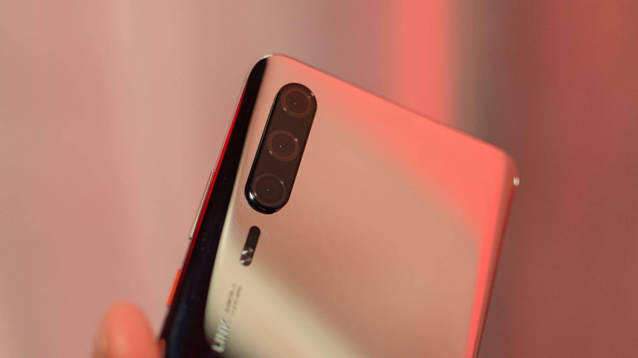 Dieser Prototyp zeigt das beinahe finale Design des Huawei P30 Pro.