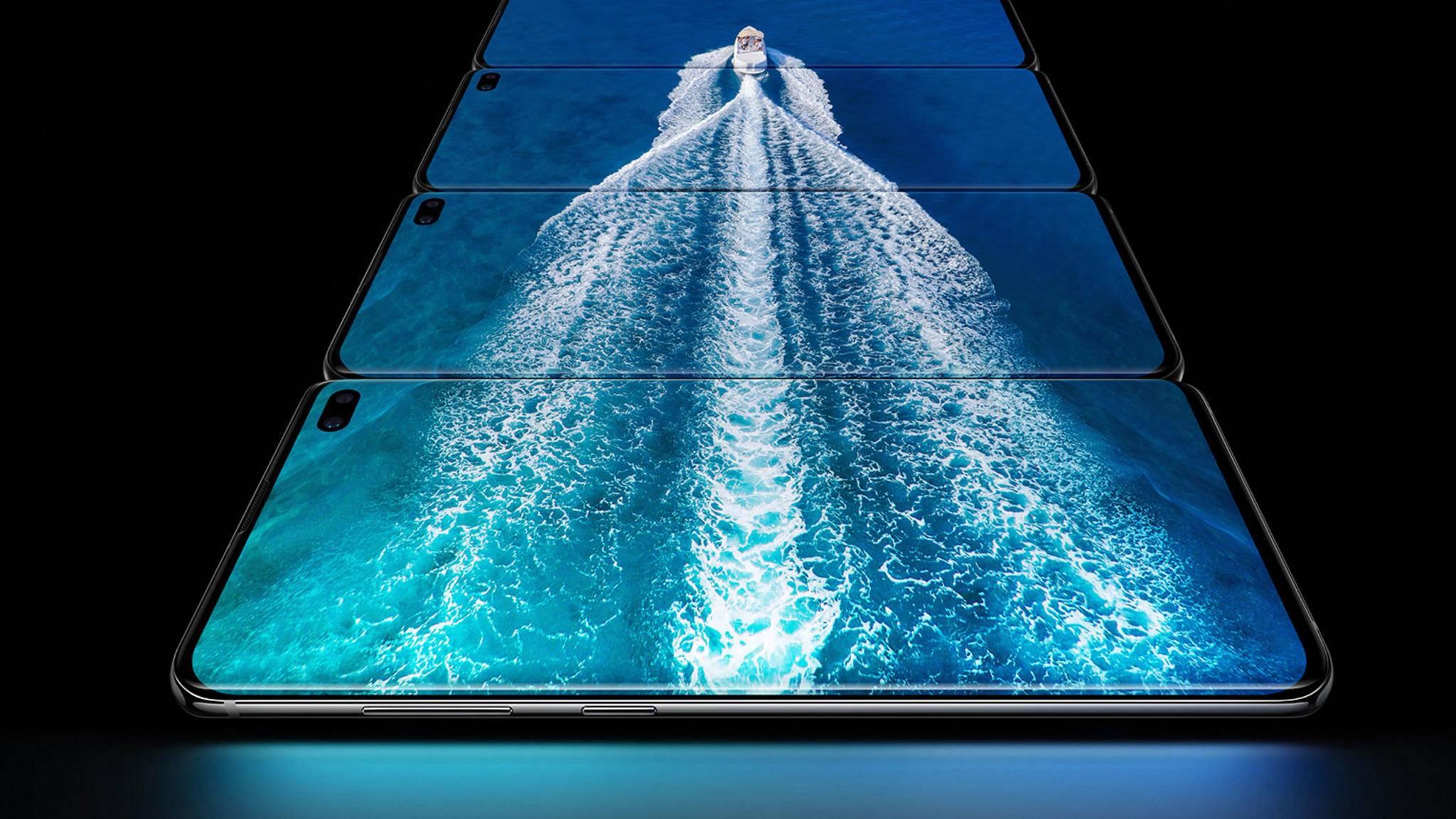 Kürzlich wurde das Galaxy S10 mit Infinity-O-Display enthüllt.
