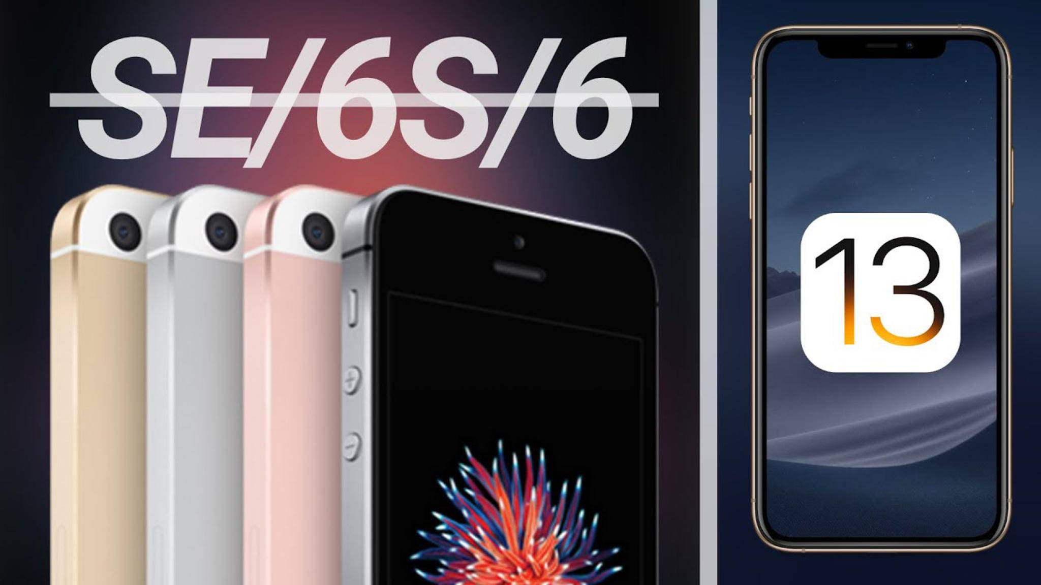 Kein iOS 13 mehr für das iPhone SE und das iPhone 6s? Dieses Gerücht macht derzeit die Runde.