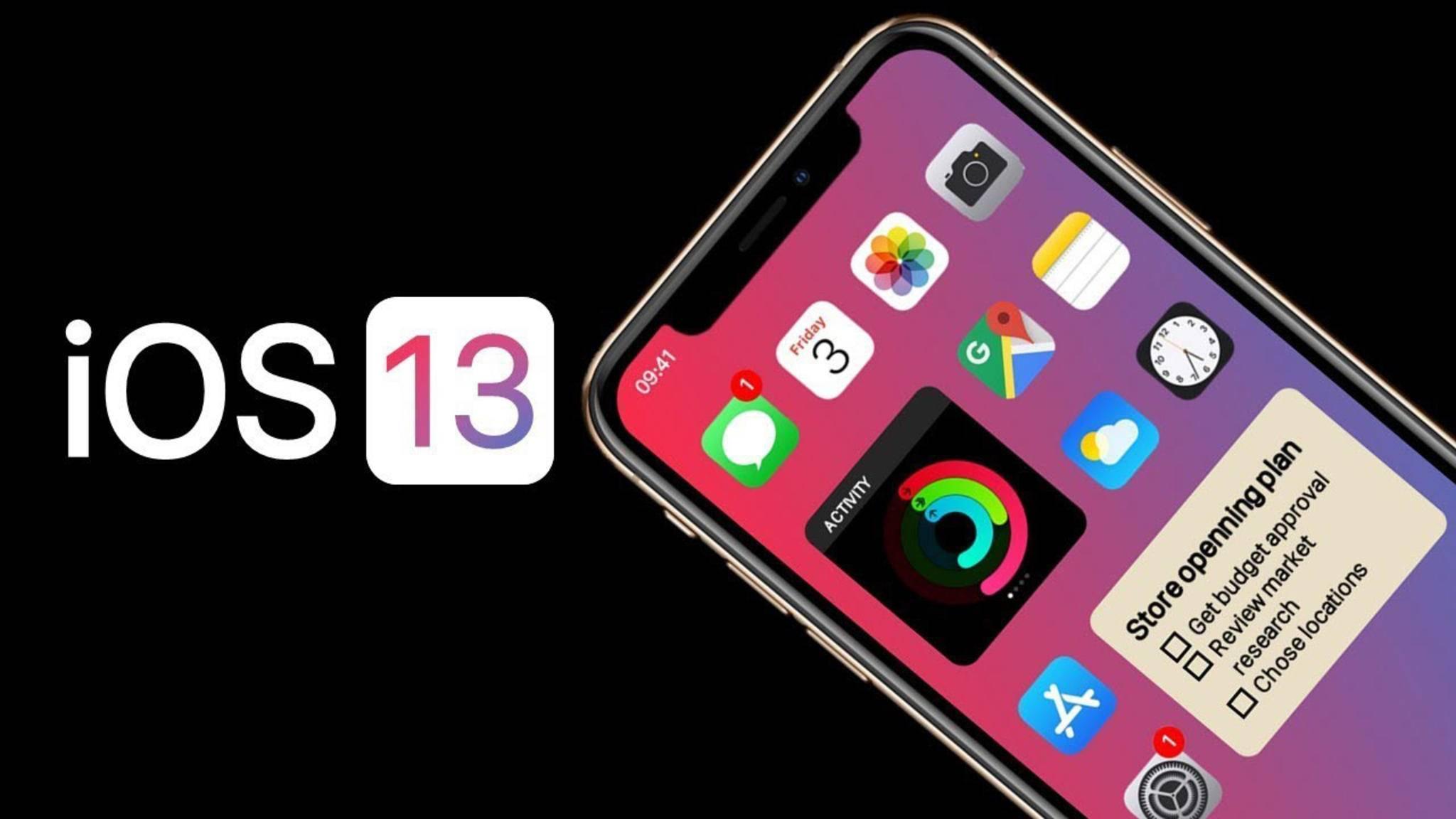 iOS 13 könnte am 16. September veröffentlicht werden.