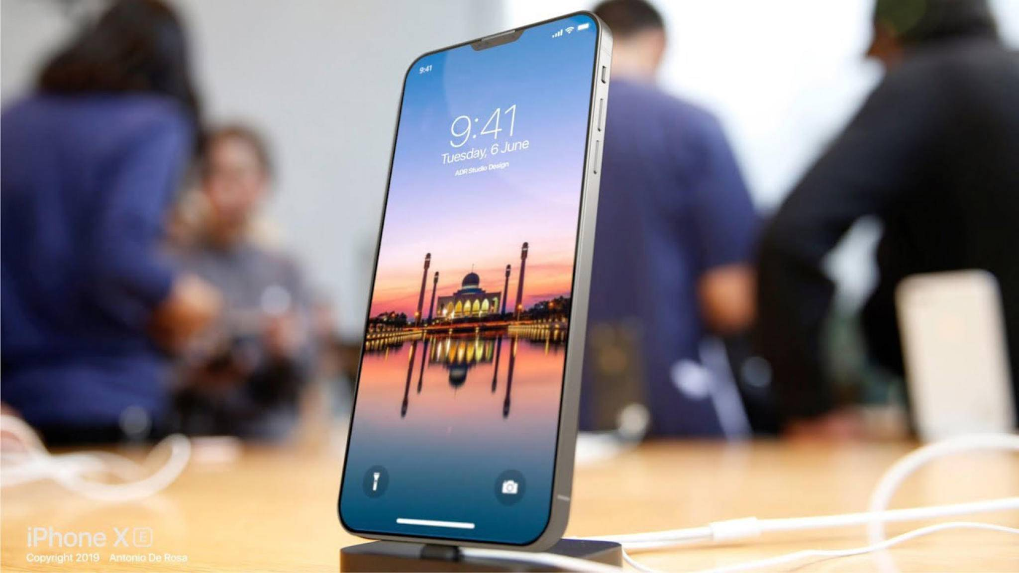 Bei einem der nächsten iPhones könnte das Display als Lautsprecher genutzt werden.