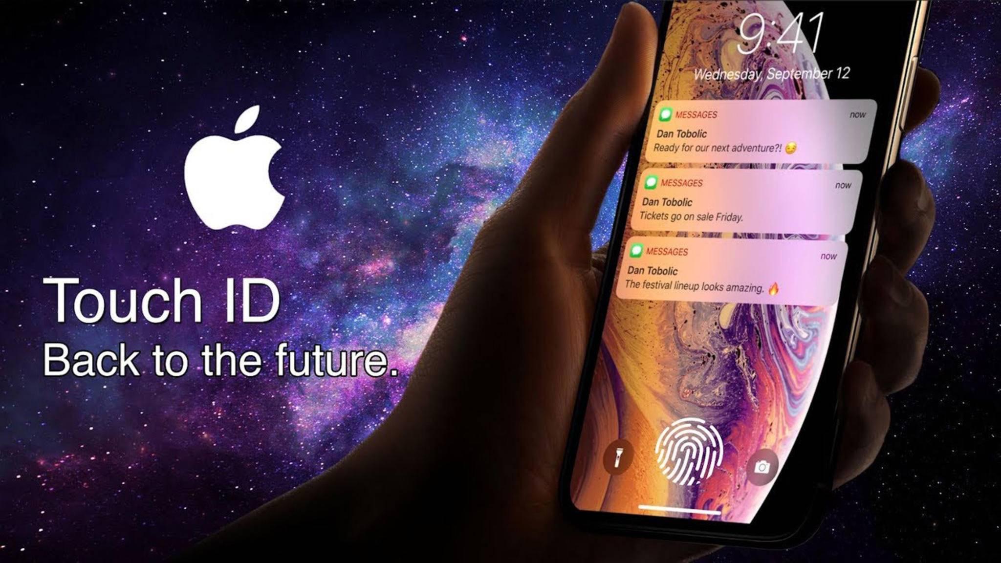 Wird das iPhone 2020 über einen Fingerabdrucksensor direkt unter dem Bildschirm verfügen?