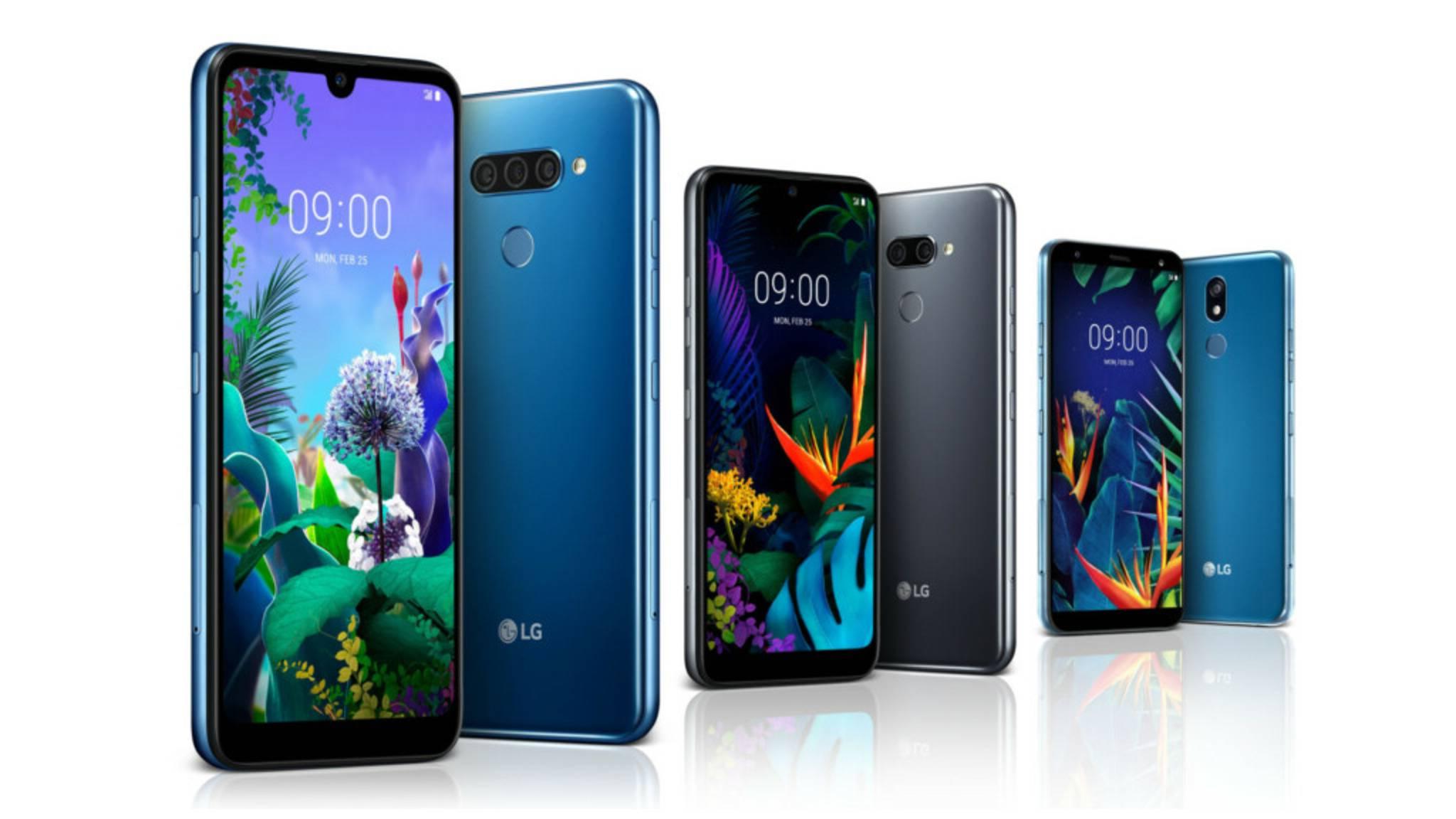 Das LG K40, LG K50, und LG Q60 sollen zu einem günstigen Preis auf den Markt kommen.
