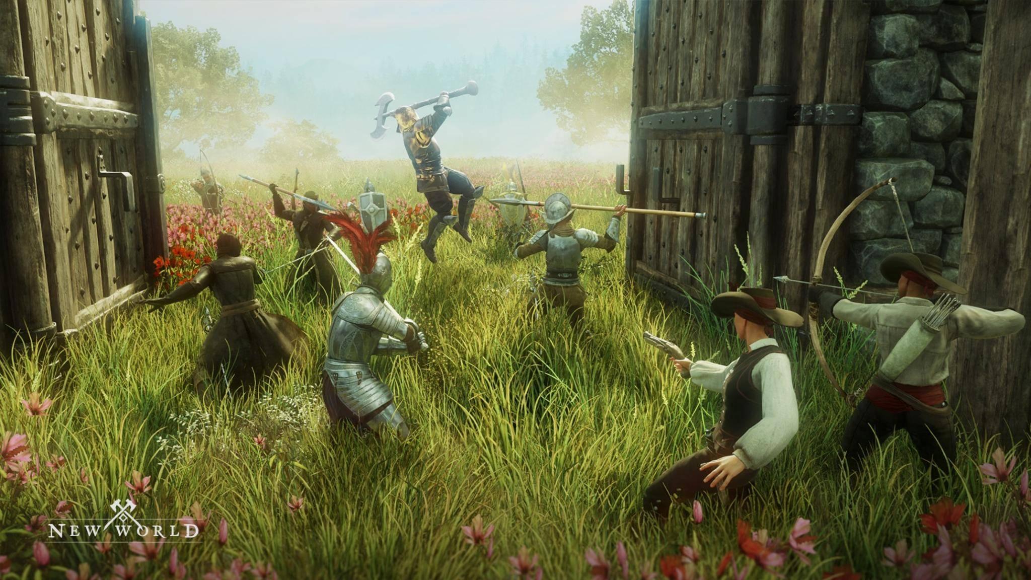 """""""New World"""": Was kann das Sandbox-MMO von den Amazon Game Studios?"""