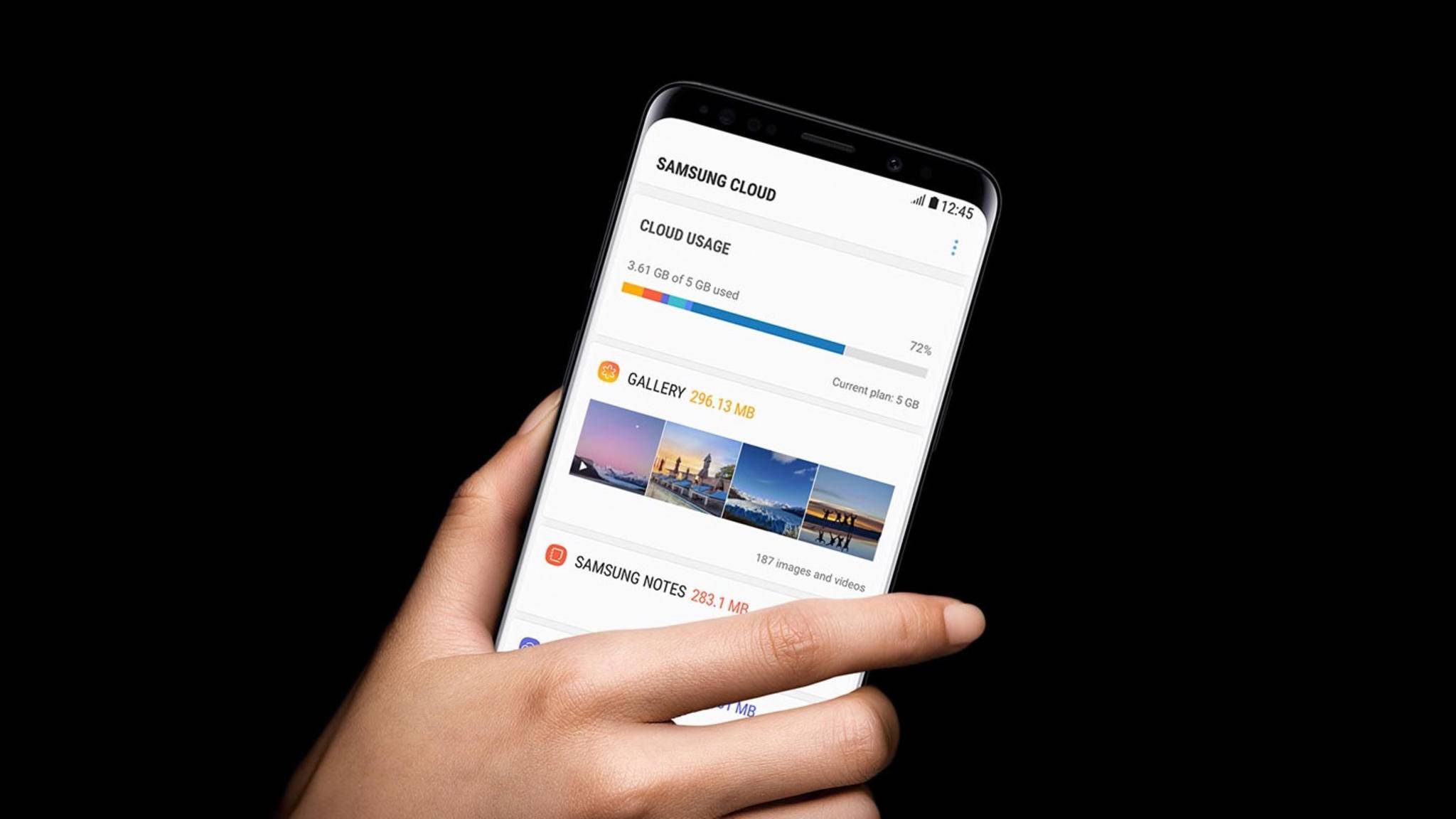 Samsung Cloud unerwünscht? Dann schalte sie aus.