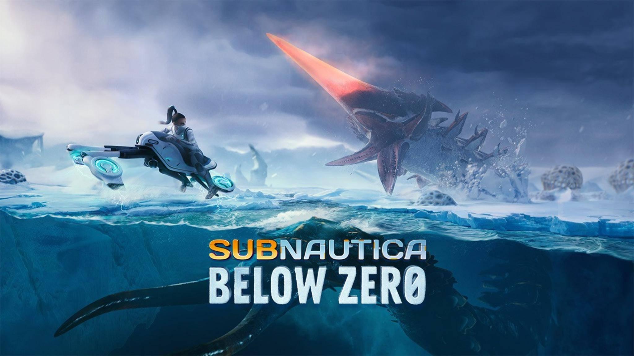 "Eiskalter Survival-Spielspaß in ""Subnautica: Below Zero""."