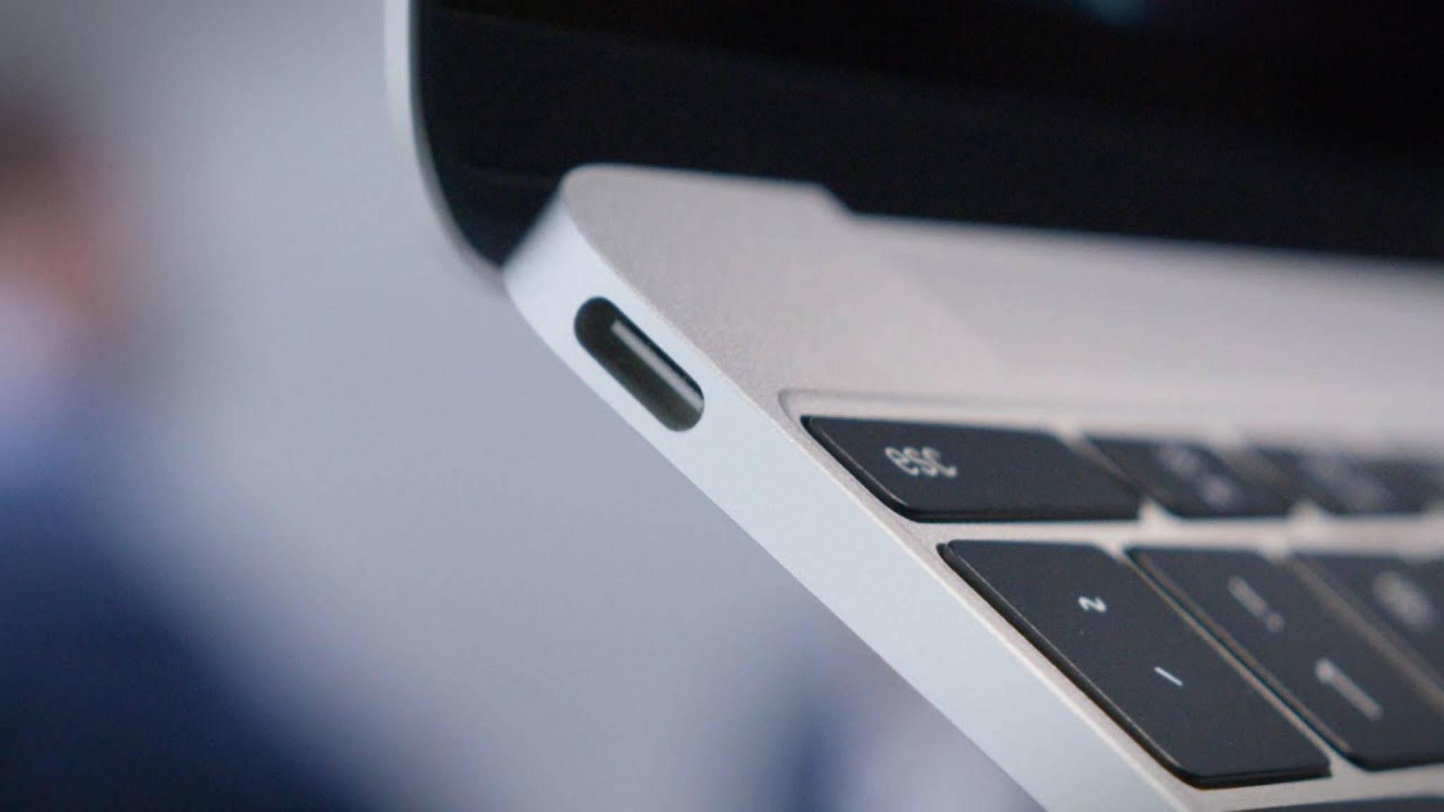 Noch unterstützt kein Gerät den schnellen USB-3.2-Anschluss – doch für neue Macs steht die Chance nicht schlecht,