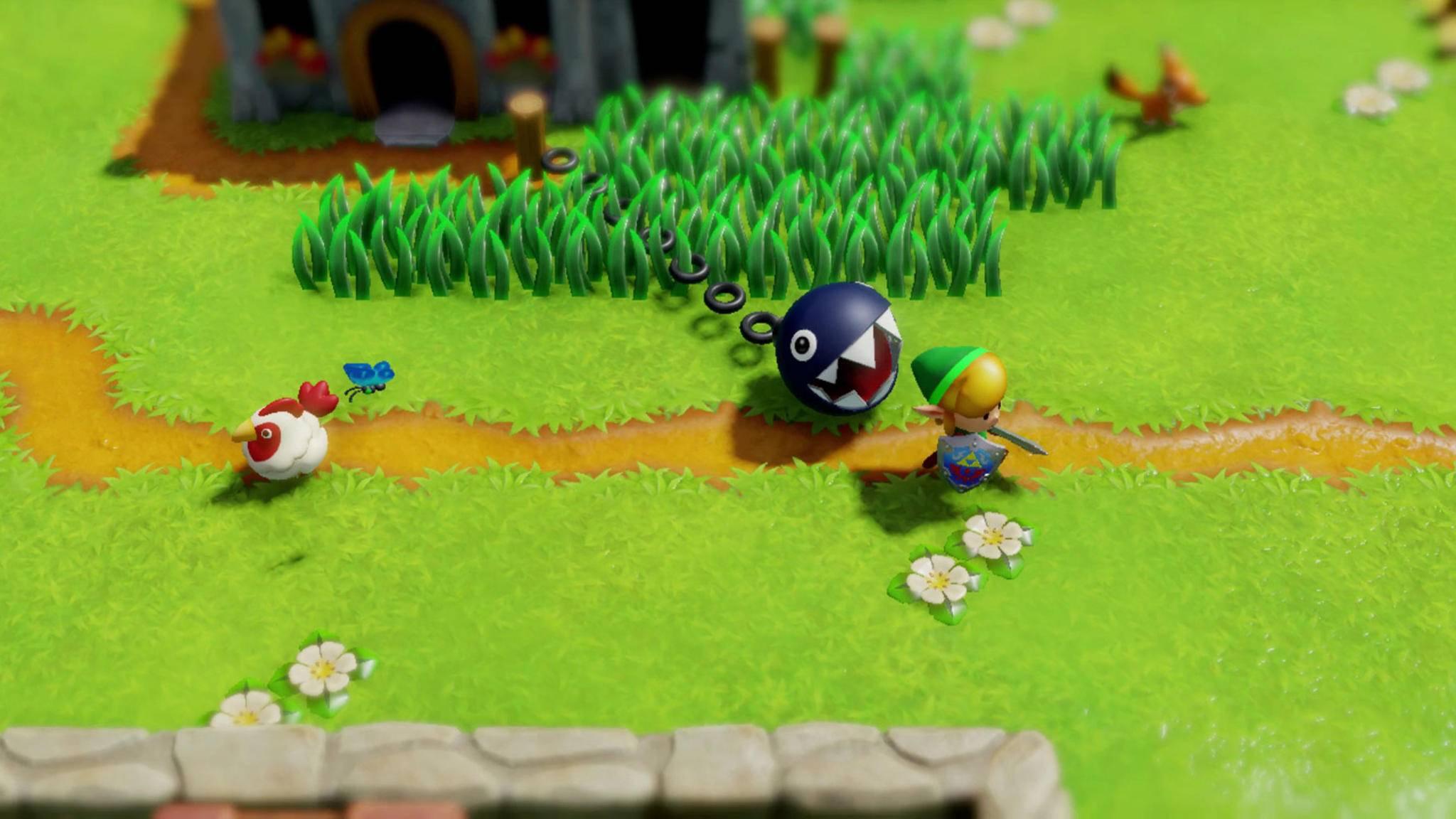 """Brauchst Du Hilfe im Spiel? Im kommenden """"Zelda""""-Remake kannst Du sie vielleicht bekommen ..."""