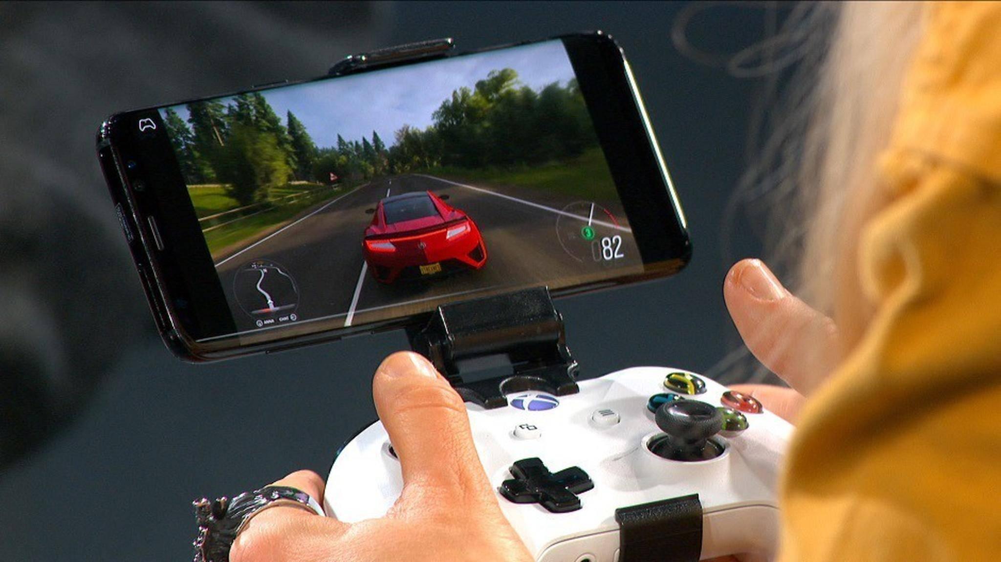 Xbox-Games-Streaming kommt auf das iPhone, aber nur von der lokalen Konsole aus (hier ein Bild von xCloud).