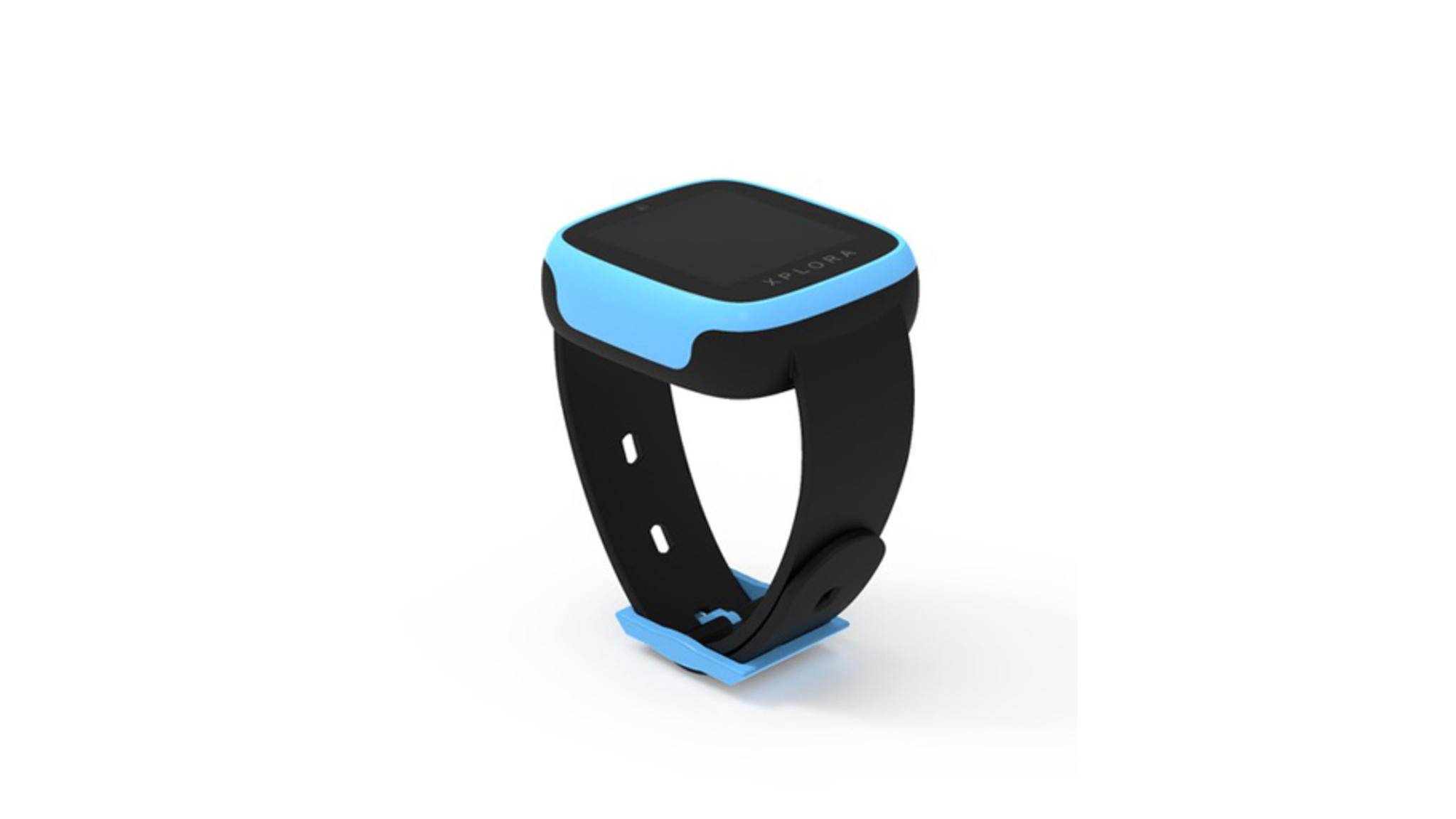Im Kids-Modul funktioniert und sieht Xplora Go aus wie eine Kinder-Smartwatch.