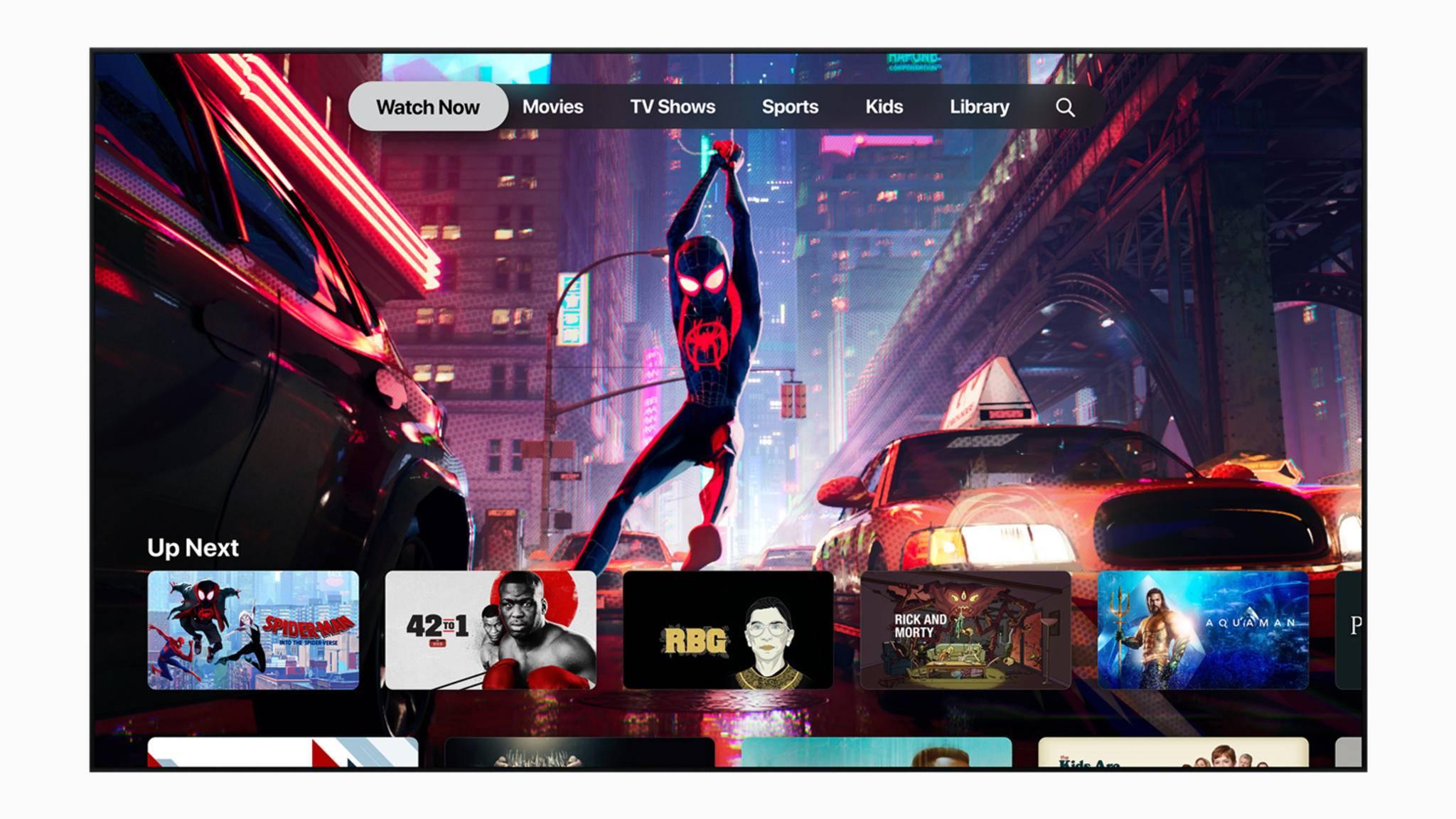 Die Apple-TV-App kommt auch für Sony-Fernseher.