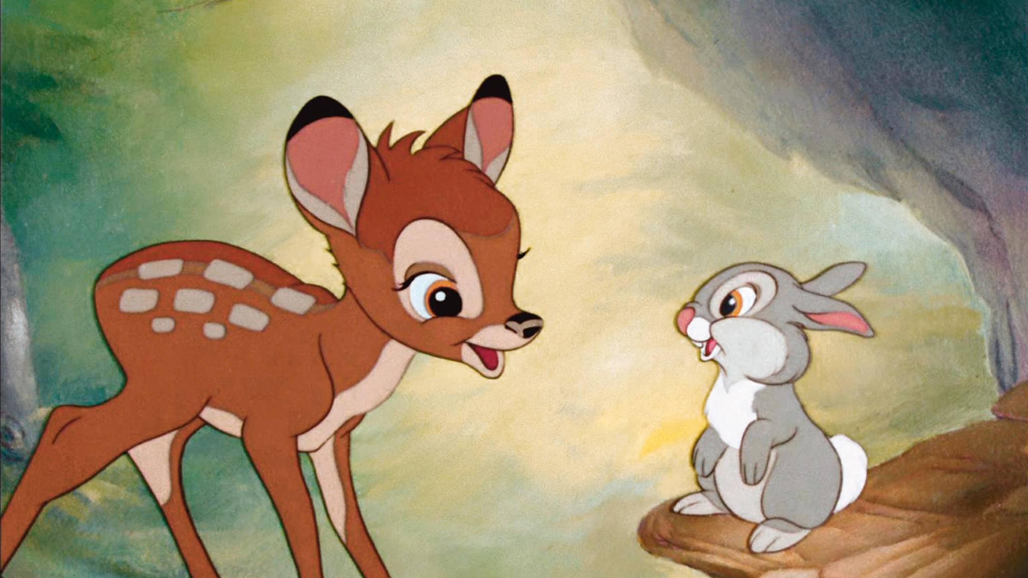 """Auch Disneyklassiker wie """"Bambi"""" sollen auf dem neuen Streamingdienst zu finden sein."""