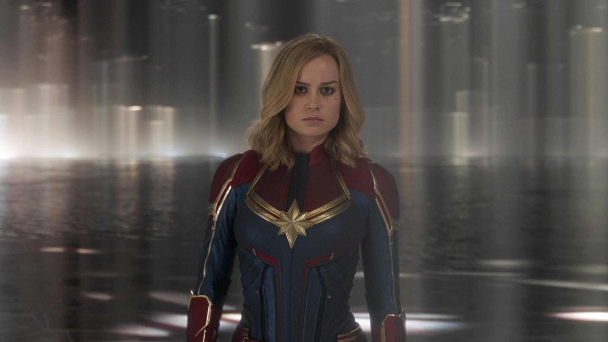"""Spätestens seit """"Captain Marvel"""" kennt sie (beinahe) jeder: Oscar-Preisträgerin Brie Larson."""
