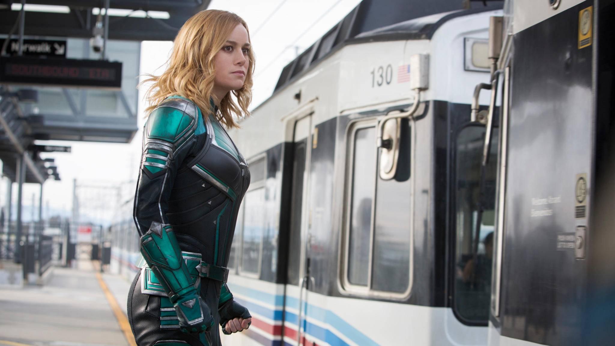"""Einsteigen, bitte! Der """"Captain Marvel 2""""-Zug nimmt Fahrt auf."""