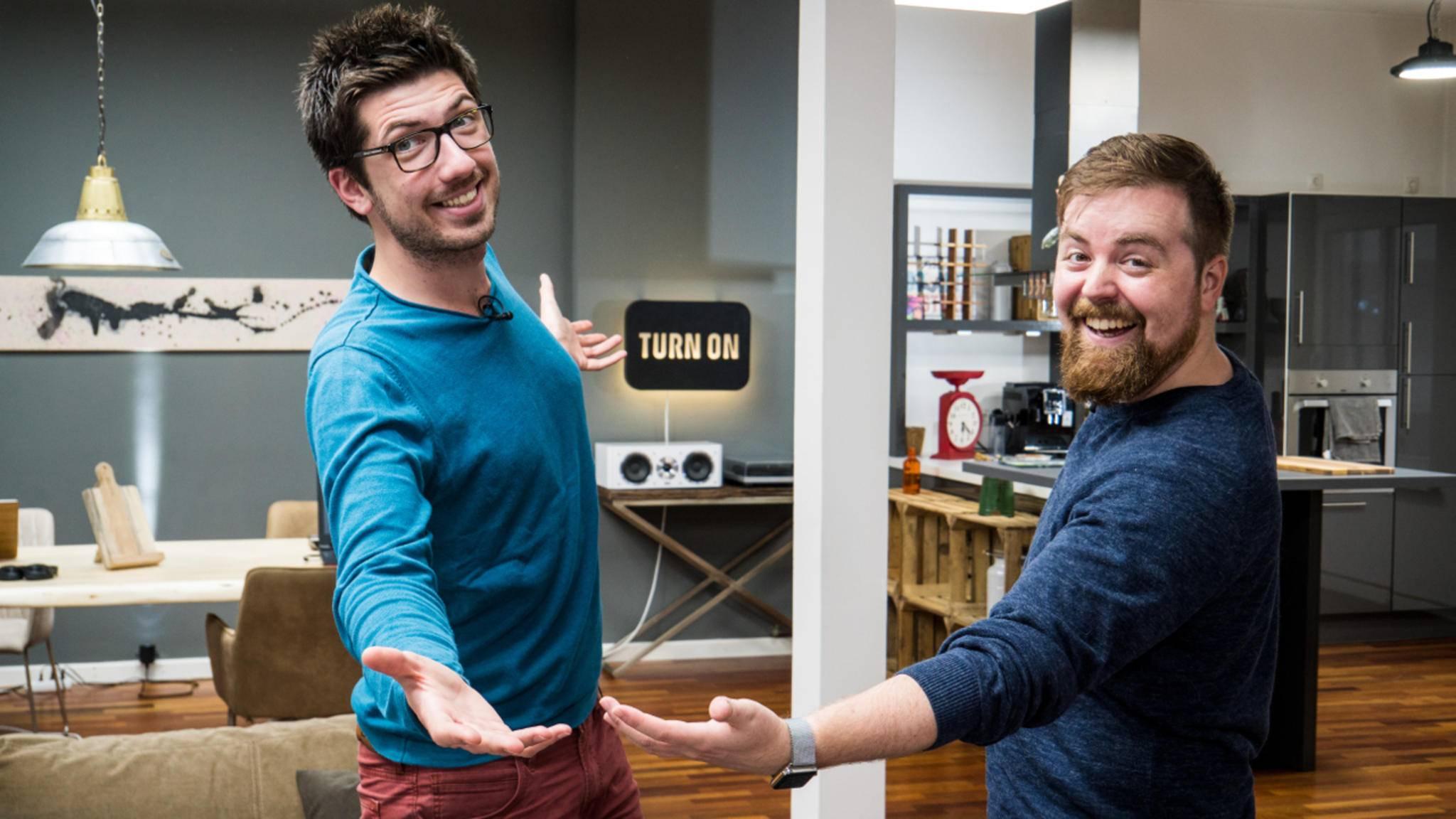 Alex und Jens präsentieren Your TURN am 28. März live.