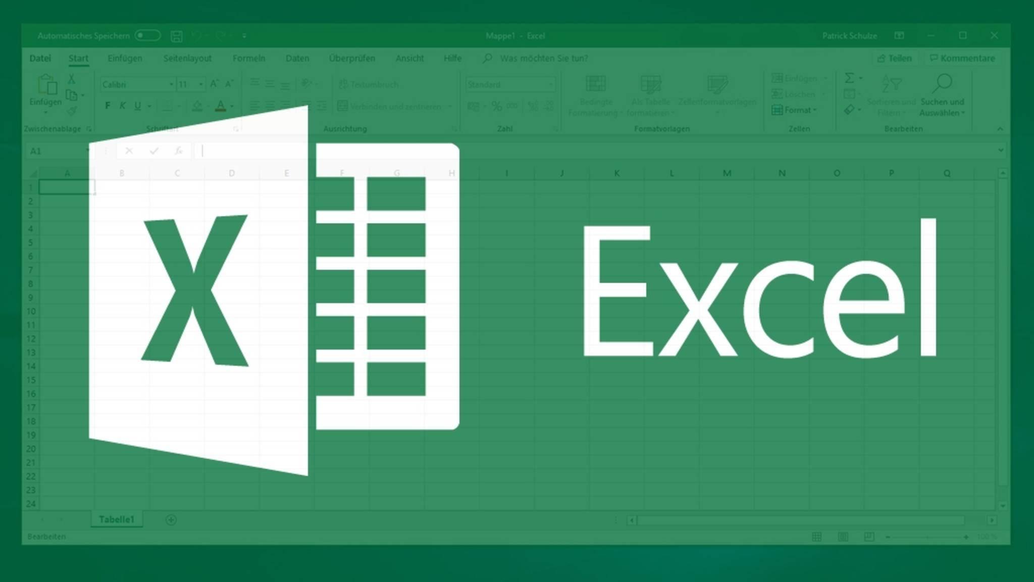 In Excel lassen sich auch CSV-Dateien bearbeiten.