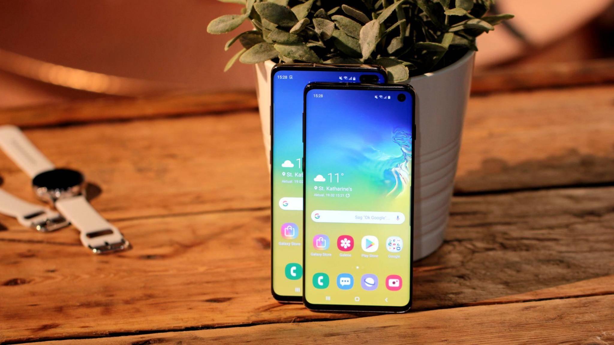 Das Samsung Galaxy S10 soll das beste Smartphone-Display haben.