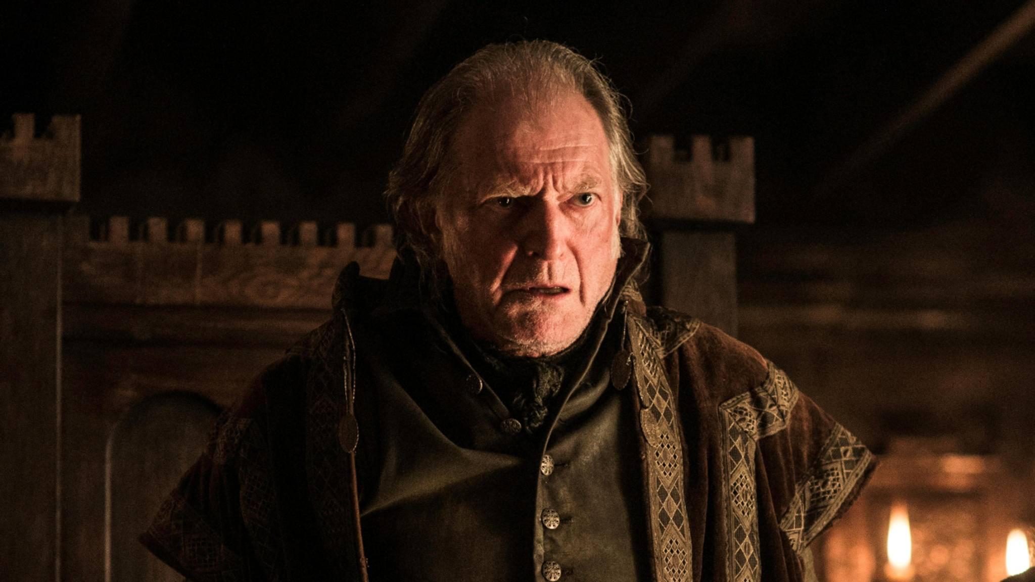 """Walder Frey ist einer der fiesesten Charaktere in """"Game of Thrones""""."""