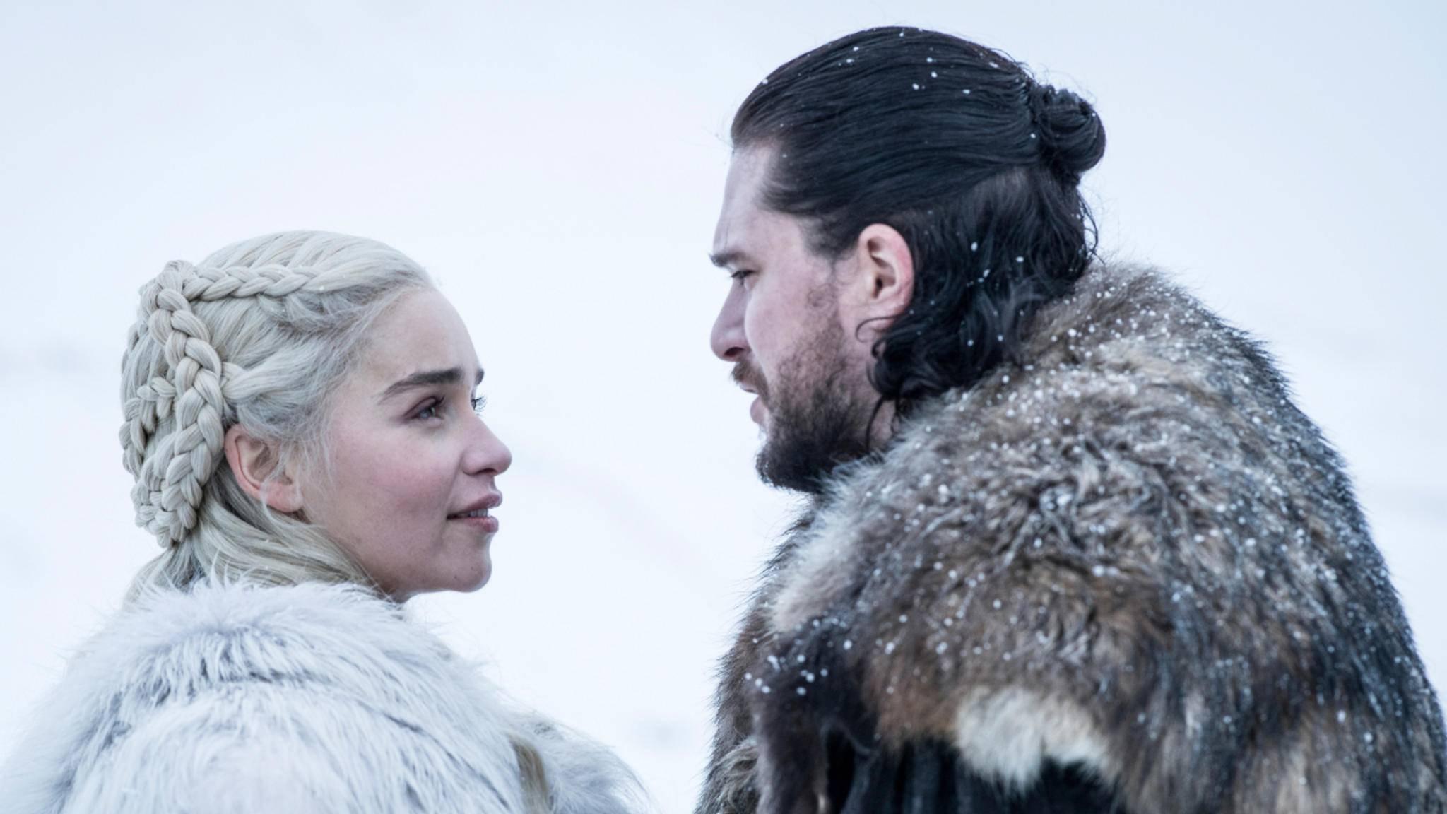 Daenerys und Jon steht in Staffel 8 eine große Enthüllung bevor.
