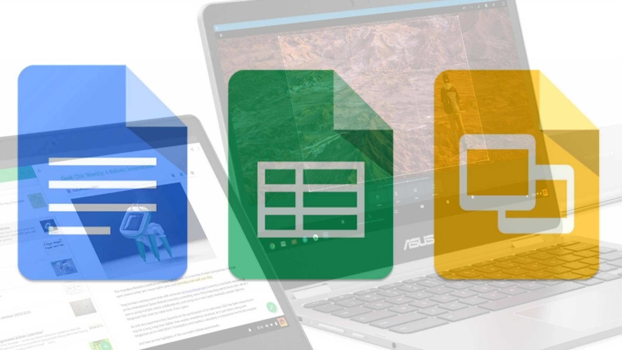 Google Docs lassen sich auch offline nutzen - am PC und mobil.