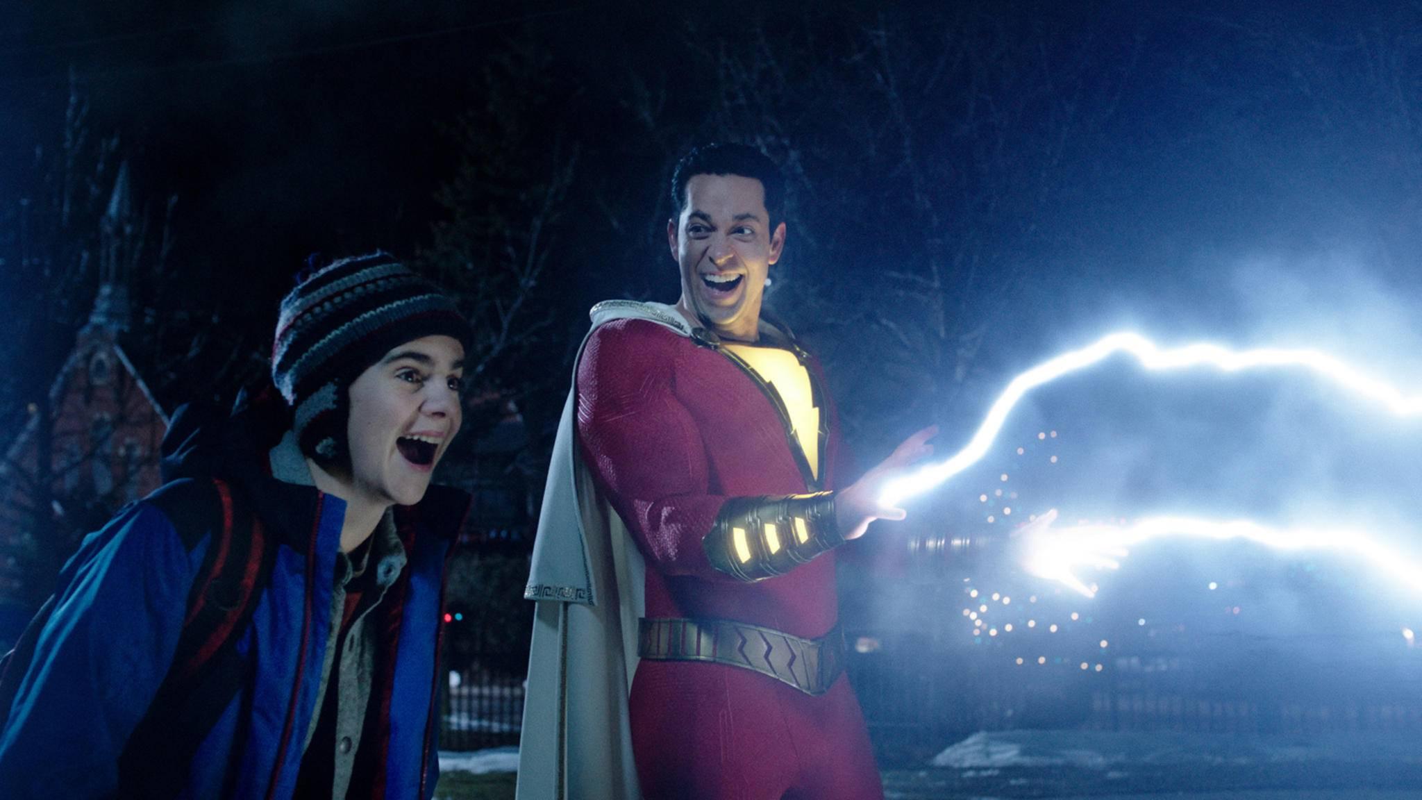 """Magie im Spiel? """"Shazam 2"""" wird offiziell auf den Weg gebracht."""