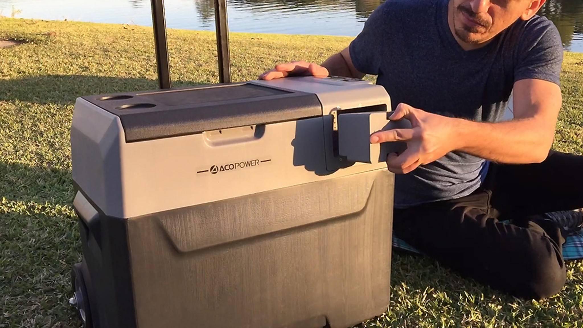 Moderne Kühlboxen wie das Modell LionCooler setzen zunehmend auf umweltfreundliche Technologien wie Solarenergie.