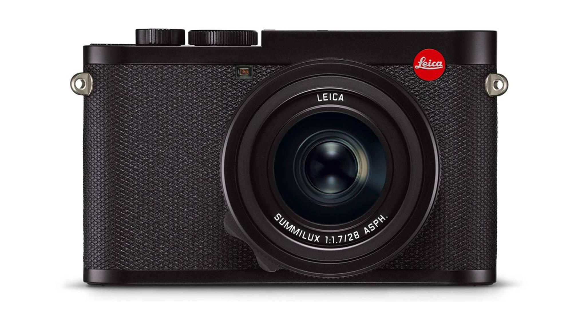 Im kompakten Gehäuse der Leica Q2 steckt ein großer Vollformatsensor.