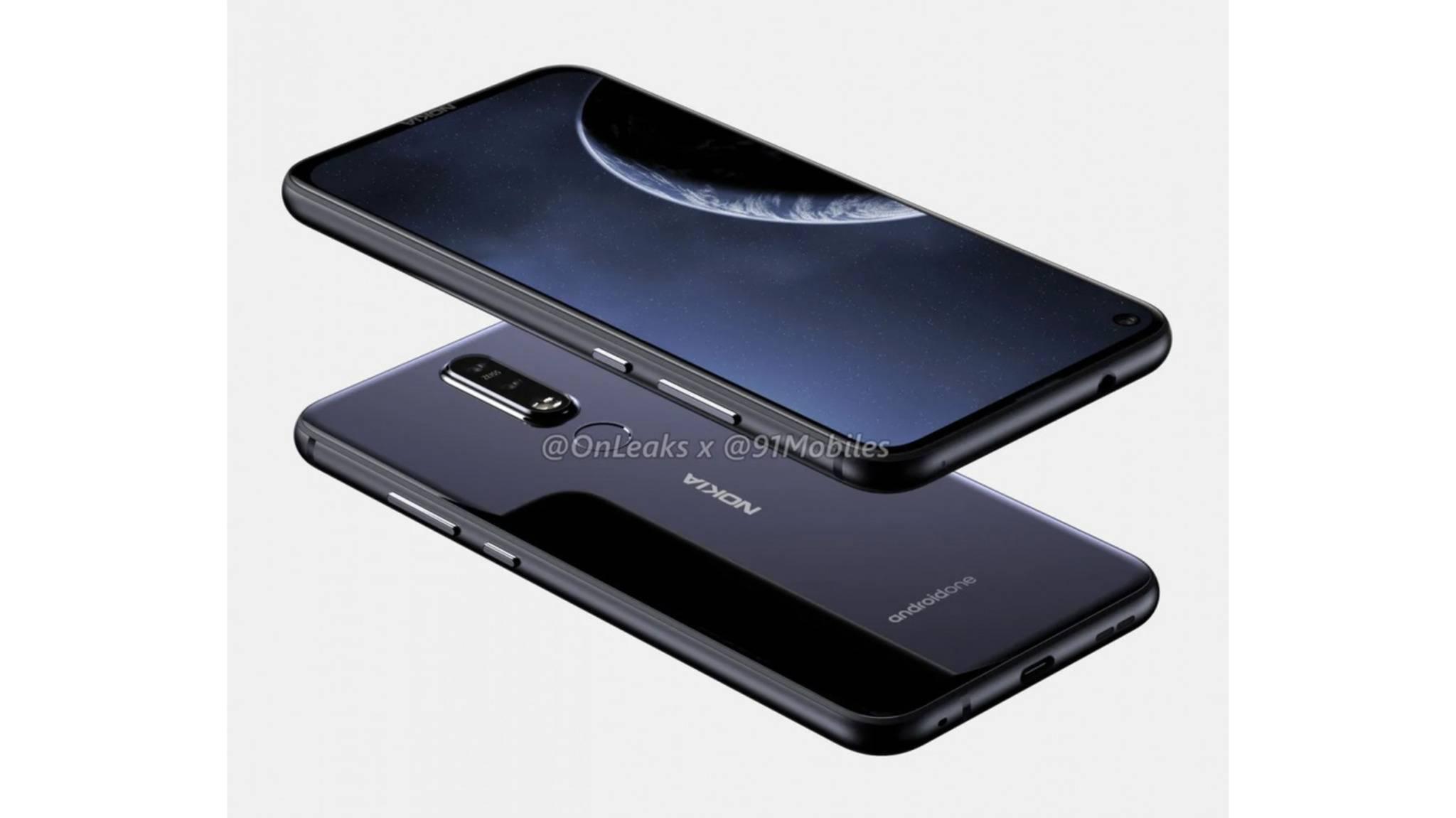 Das Nokia 8.1 Plus bietet eine 48-Megapixel-Kamera.
